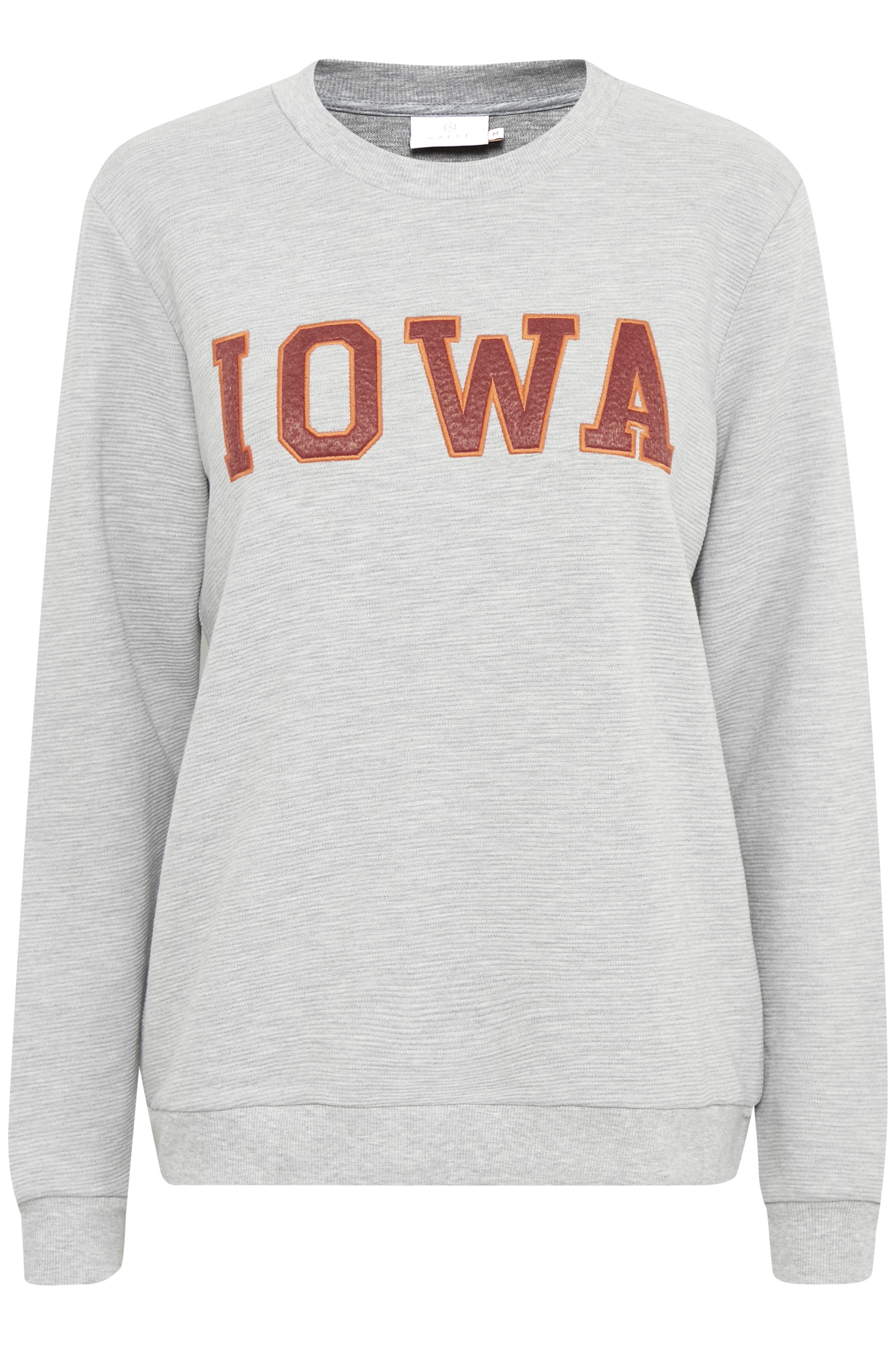 Gråmeleret Sweatshirt fra Kaffe – Køb Gråmeleret Sweatshirt fra str. XS-XXL her