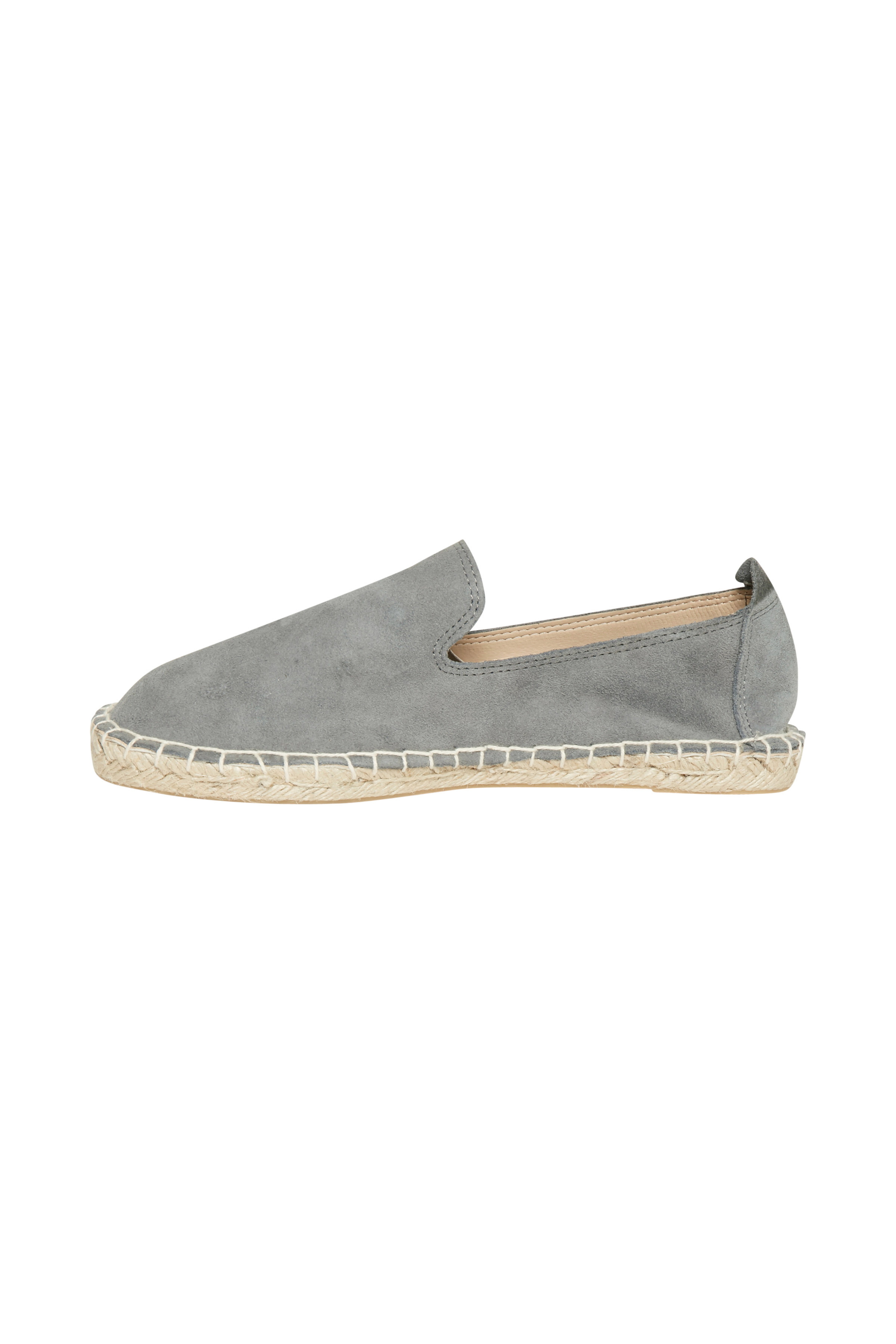 Grau Lederschuh von Ichi - accessories – Shoppen Sie Grau Lederschuh ab Gr. 36-42 hier