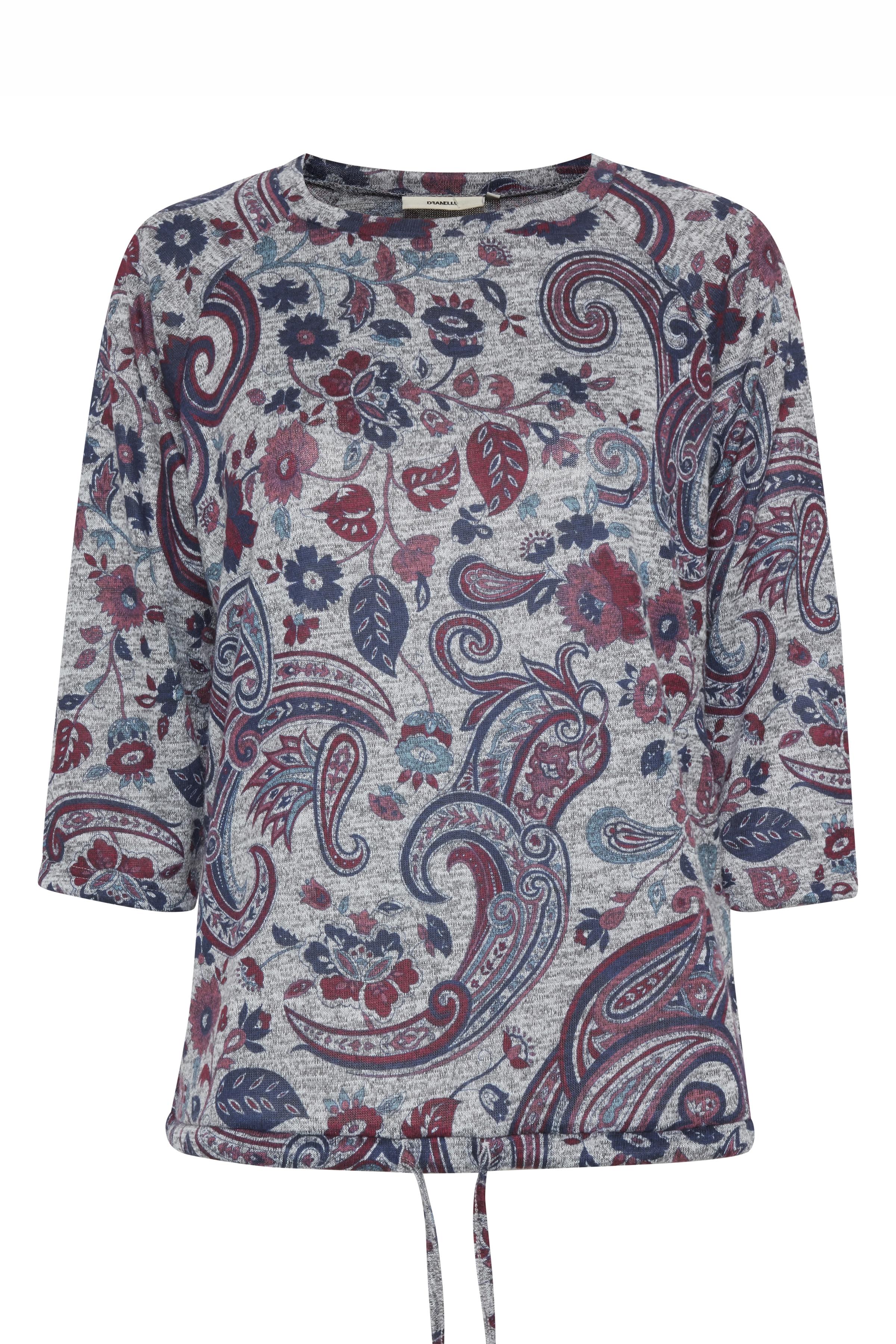 Grau meliert/rot Pullover von Dranella – Shoppen Sie Grau meliert/rot Pullover ab Gr. XS-XL hier