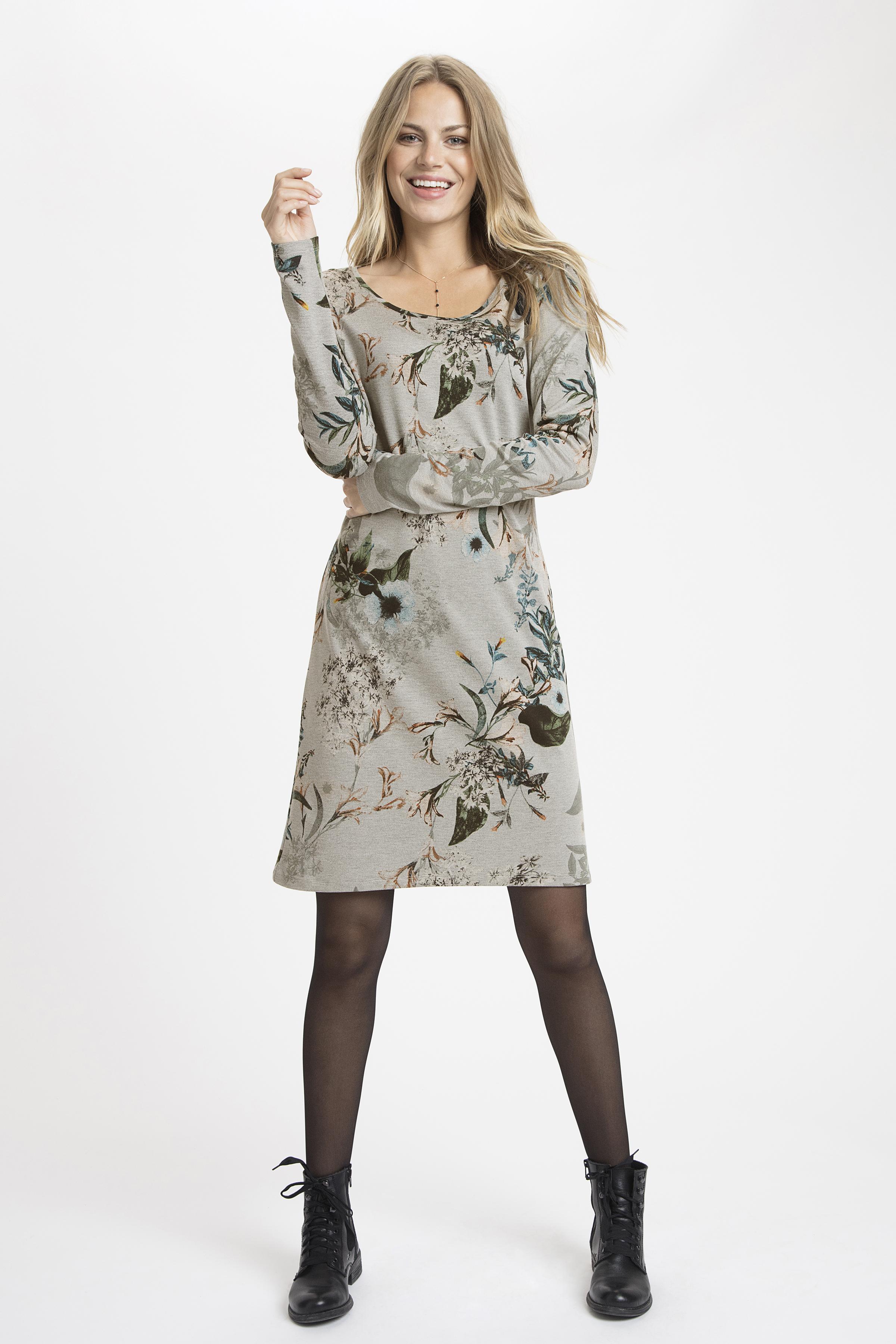 Grau meliert/wollweiß Kleid von Cream – Shoppen Sie Grau meliert/wollweiß Kleid ab Gr. XS-XXL hier