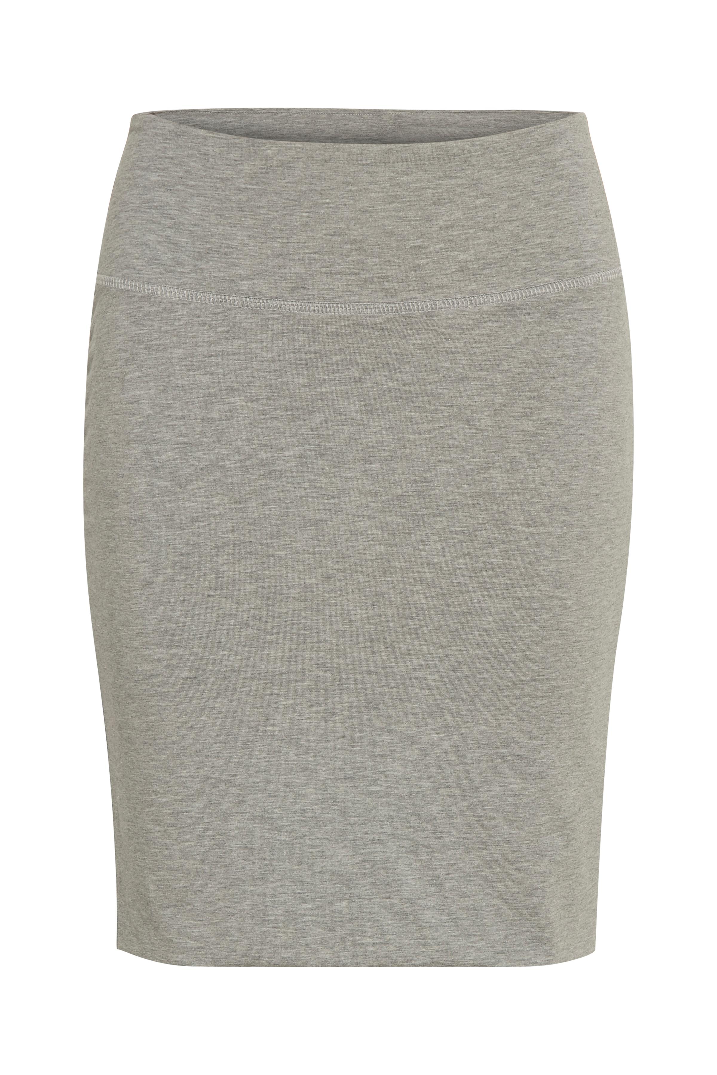 Grey melange Nederdel fra Kaffe – Køb Grey melange Nederdel fra str. XS-XXL her