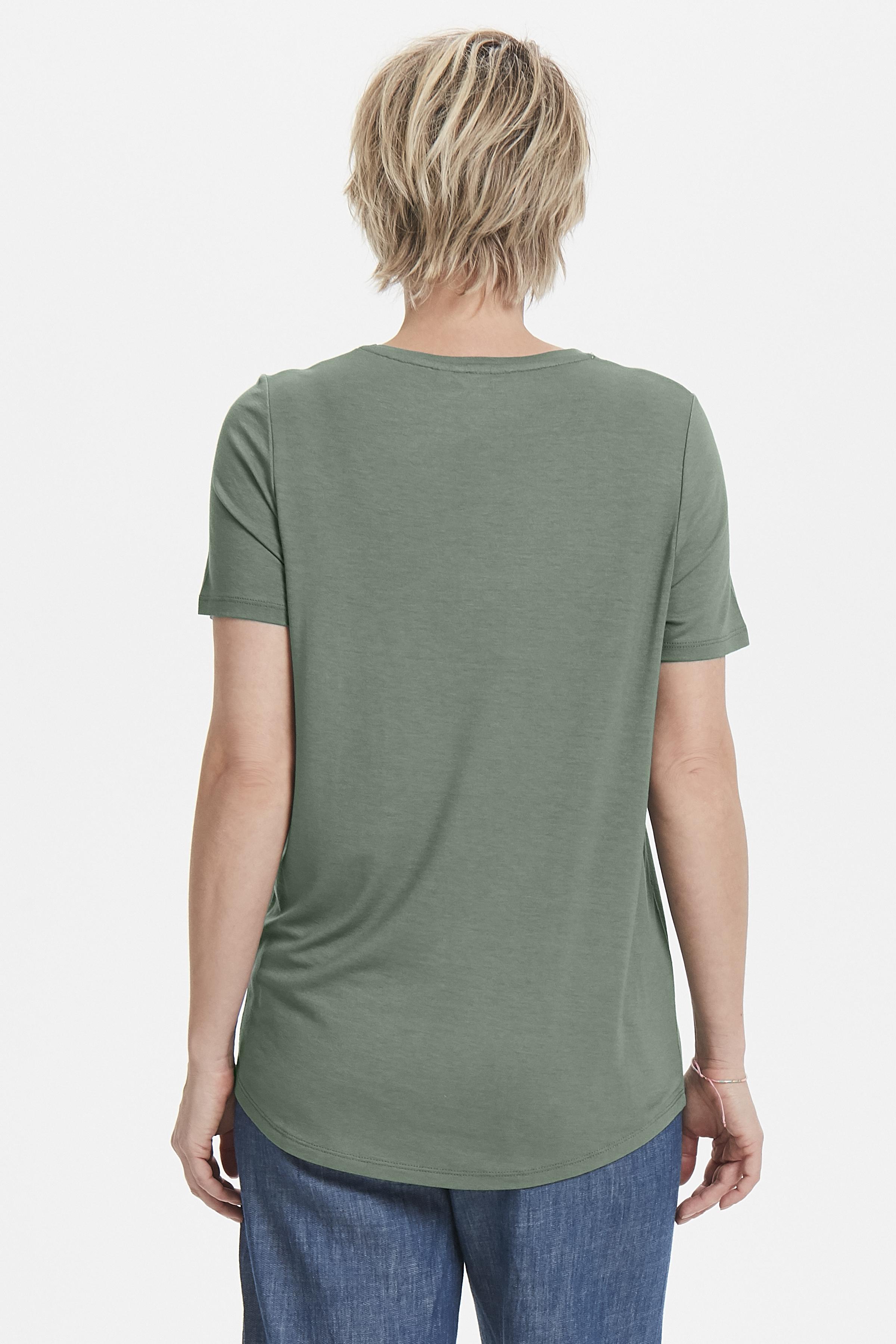 Grøn Kortærmet T-shirt fra Bon'A Parte – Køb Grøn Kortærmet T-shirt fra str. S-XXL her