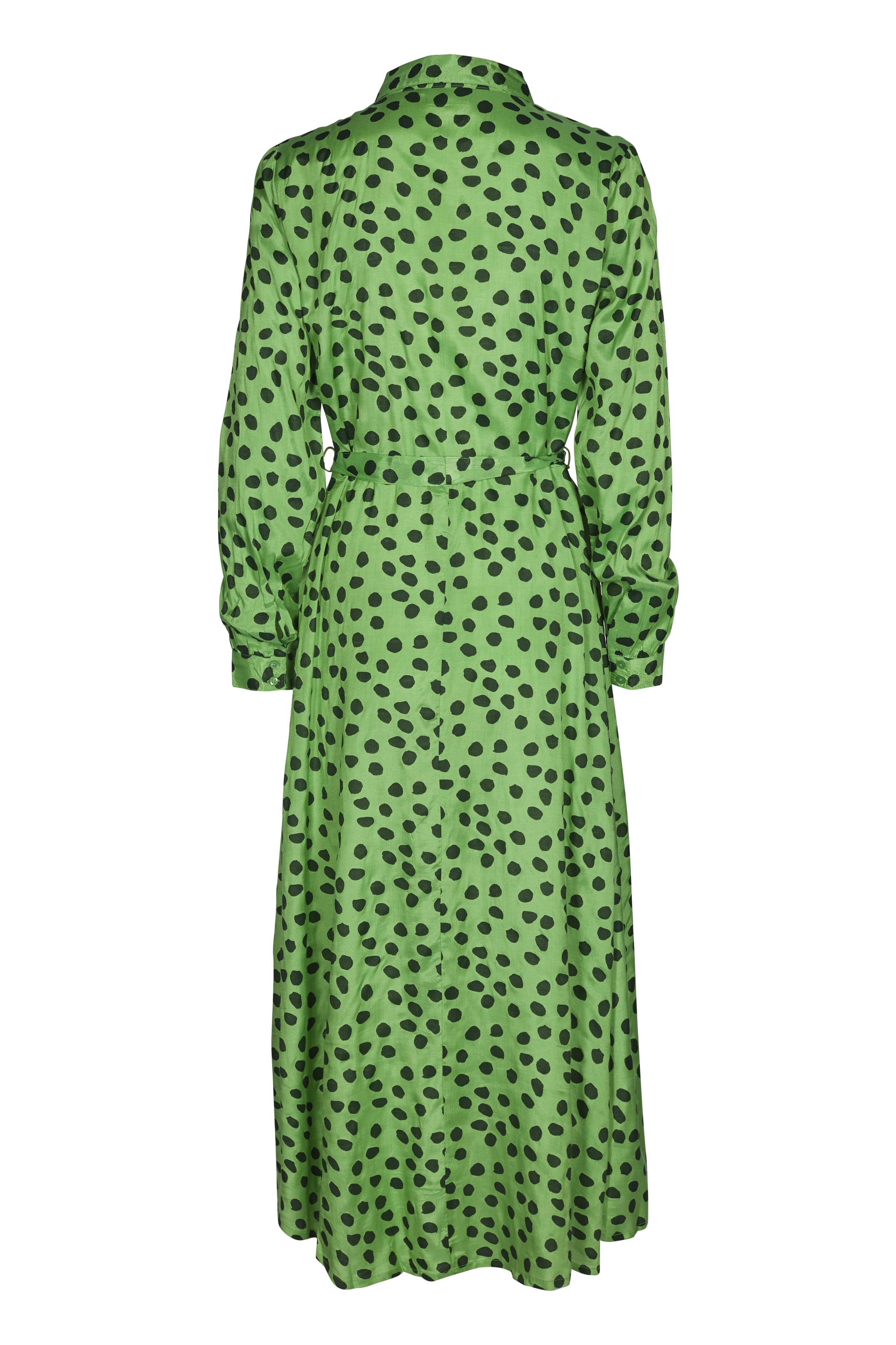 Grøn/mørkegrøn Kjole fra Kaffe – Køb Grøn/mørkegrøn Kjole fra str. 34-46 her