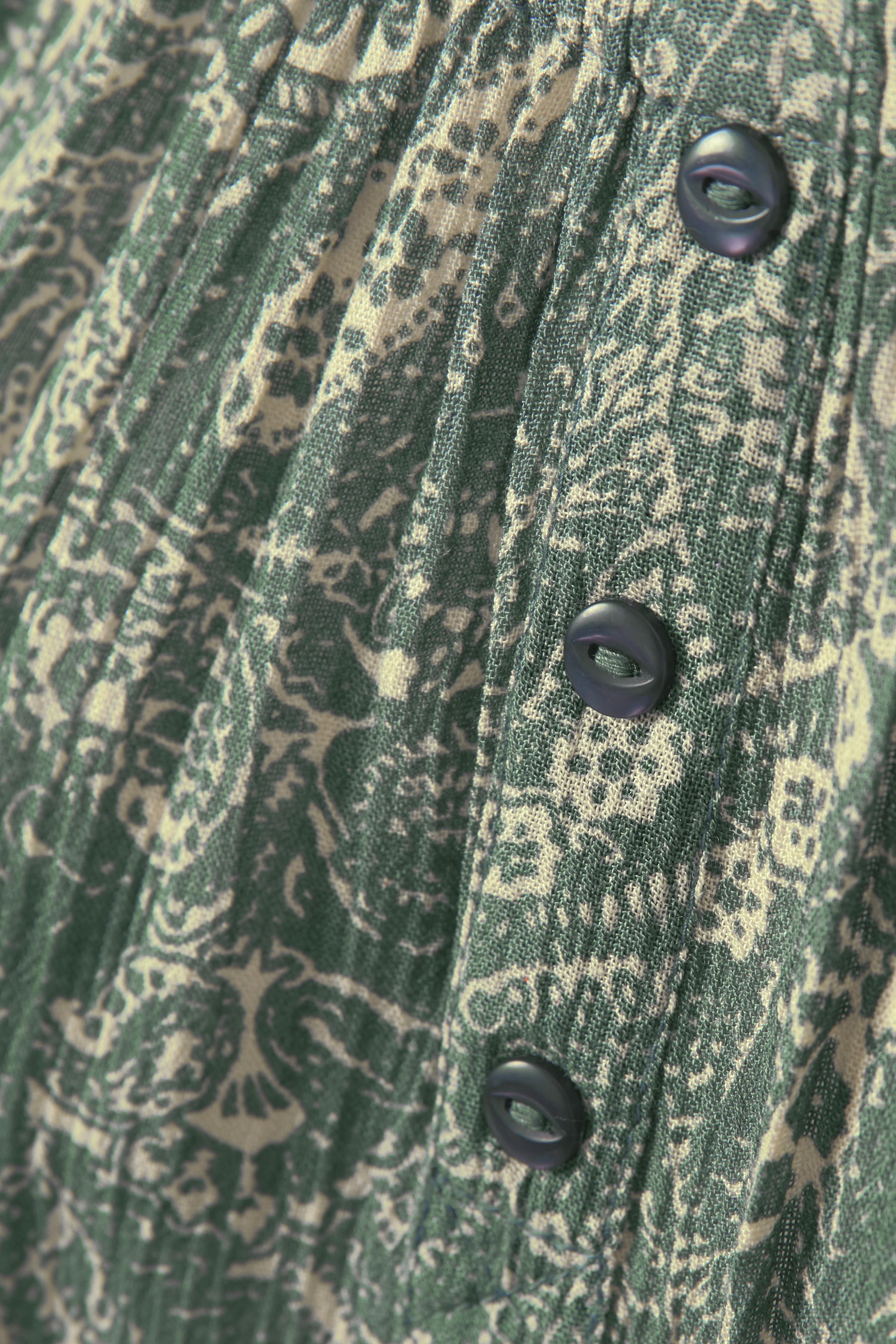 Grön/crème Blus från Bon'A Parte – Köp Grön/crème Blus från stl. S-2XL här