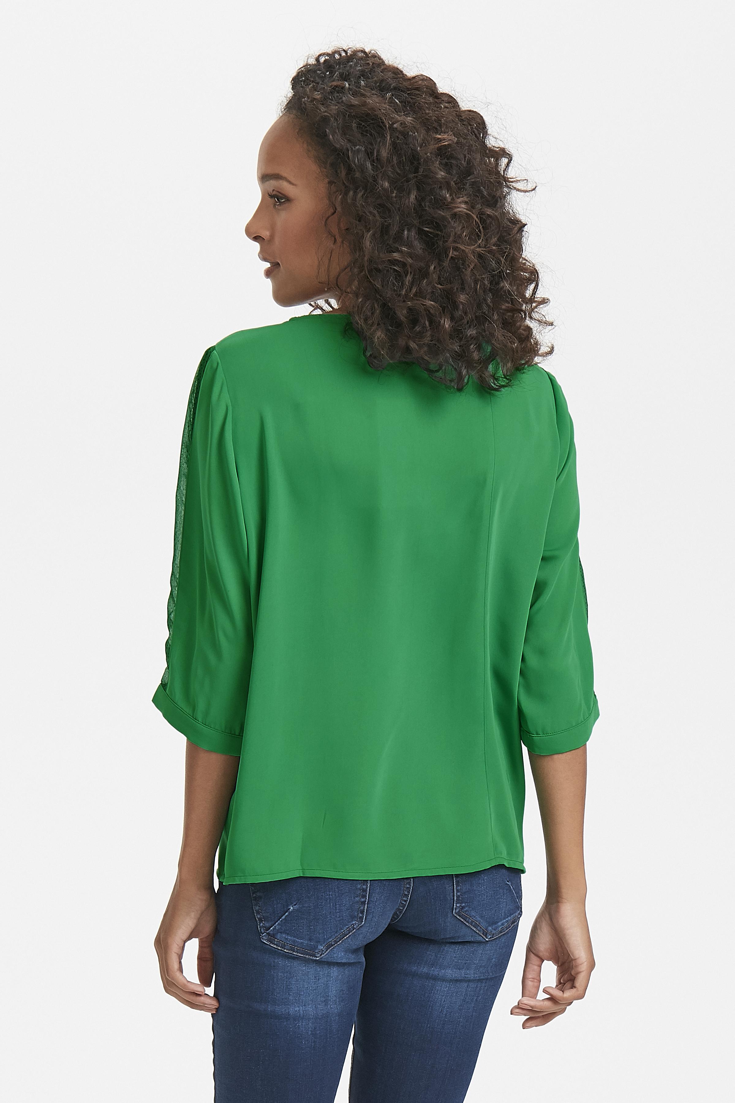 Grön Kortärmad blus från Fransa – Köp Grön Kortärmad blus från stl. XS-XXL här