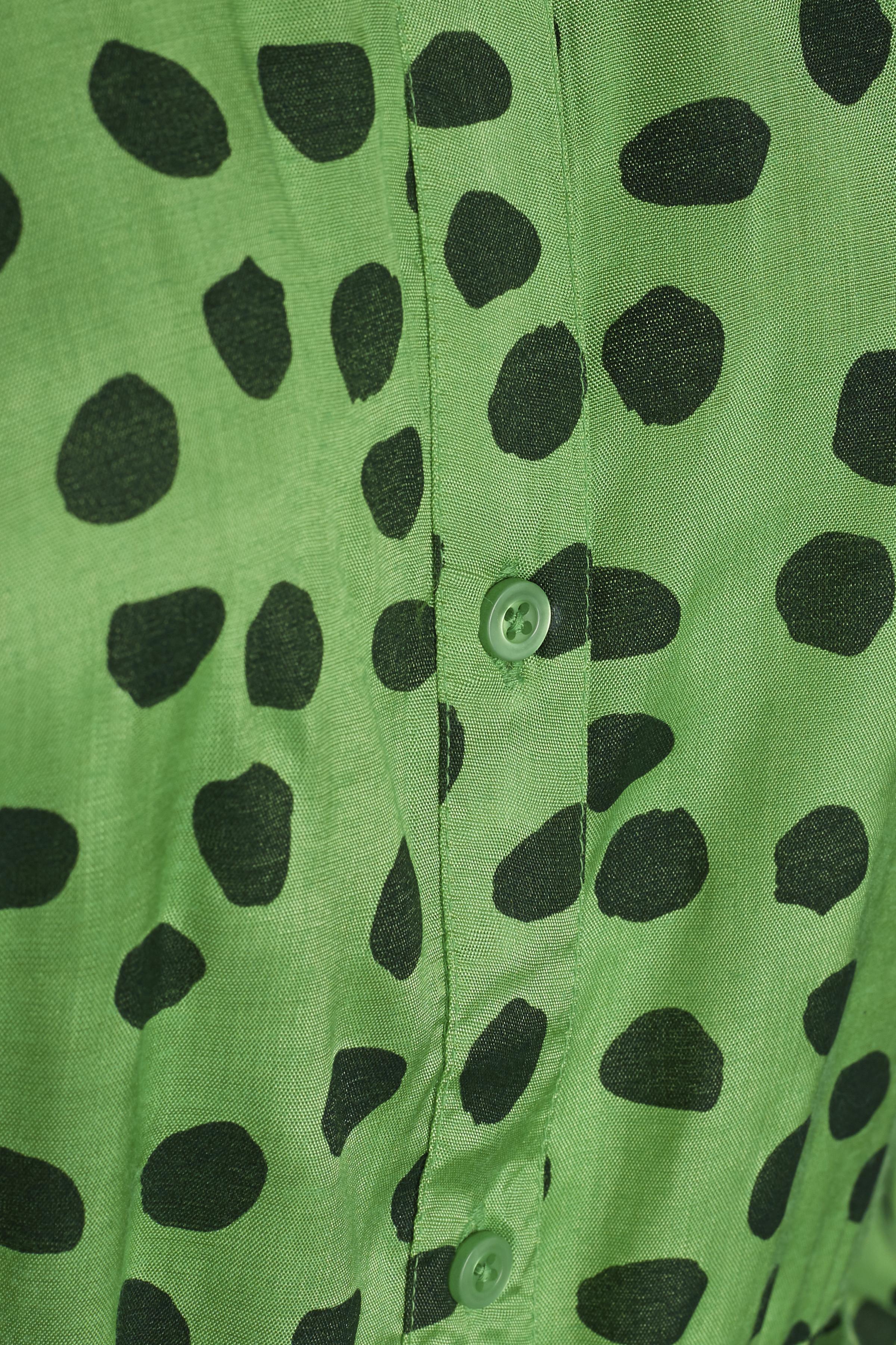 Grön/mörkgrön Klänning från Kaffe – Köp Grön/mörkgrön Klänning från stl. 34-46 här