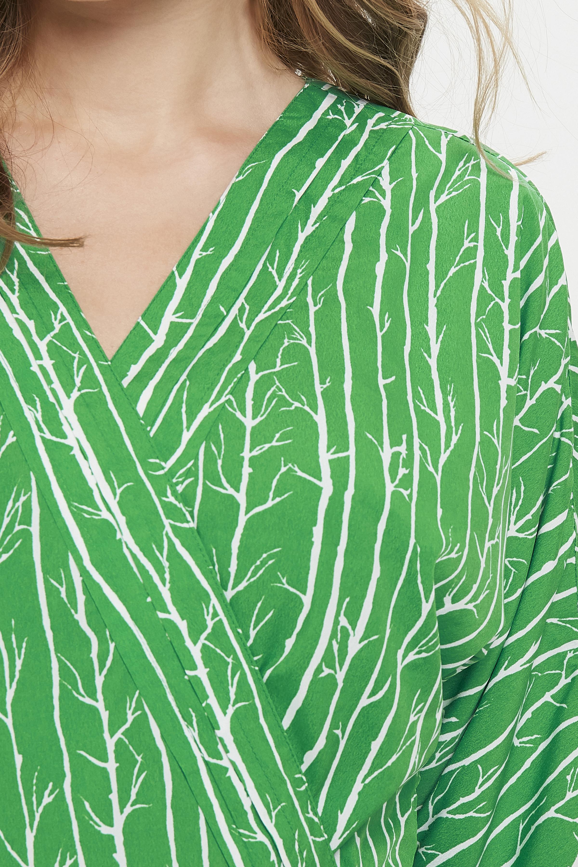Grön/off-white Klänning från Dranella – Köp Grön/off-white Klänning från stl. XS-XXL här