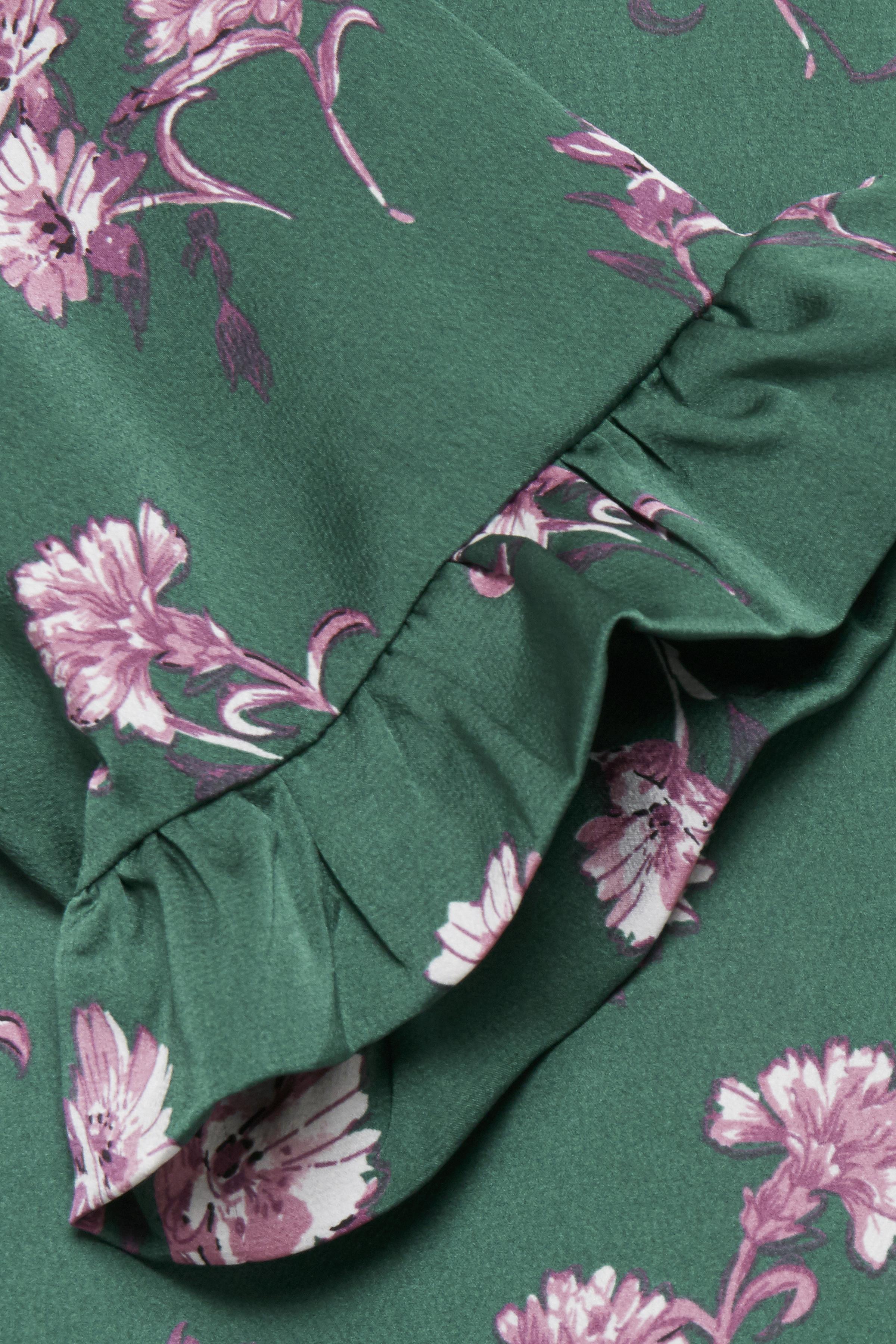 Grön/pink Kortärmad blus från Dranella – Köp Grön/pink Kortärmad blus från stl. XS-XXL här