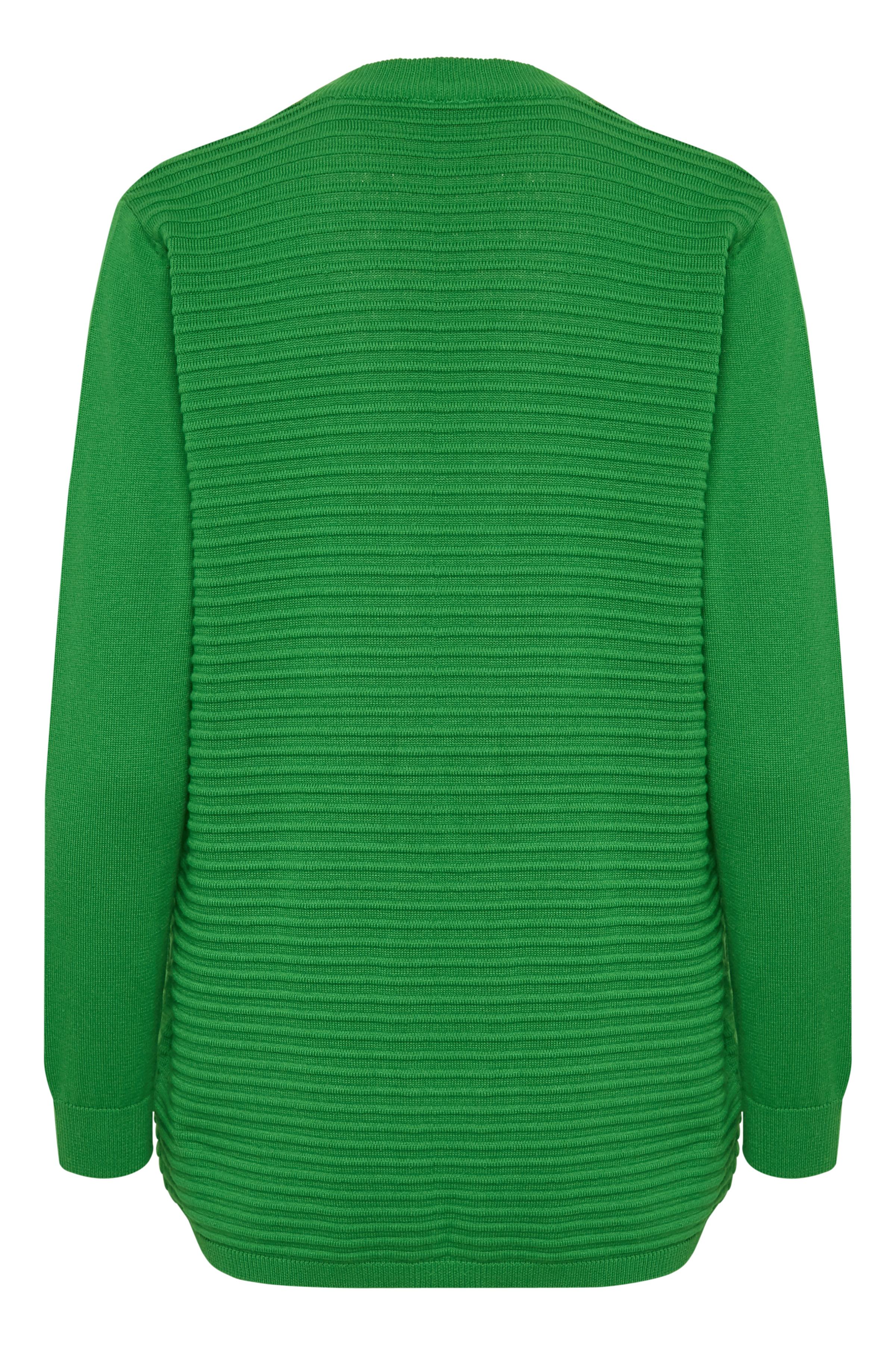 Grön Stickad cardigan från Fransa – Köp Grön Stickad cardigan från stl. XS-XXL här