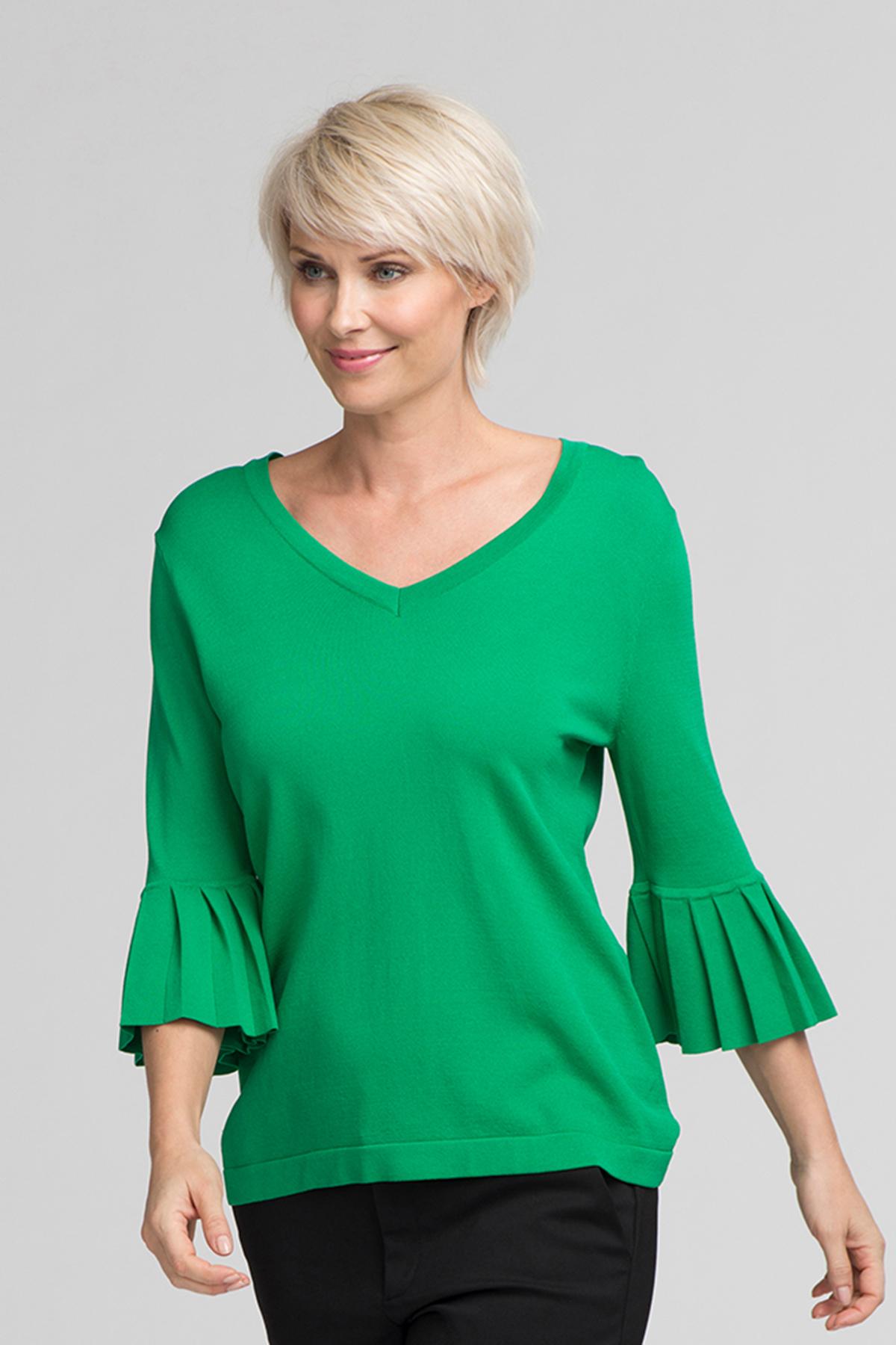 Grön Stickad pullover från Kaffe – Köp Grön Stickad pullover från stl. XS-XXL här