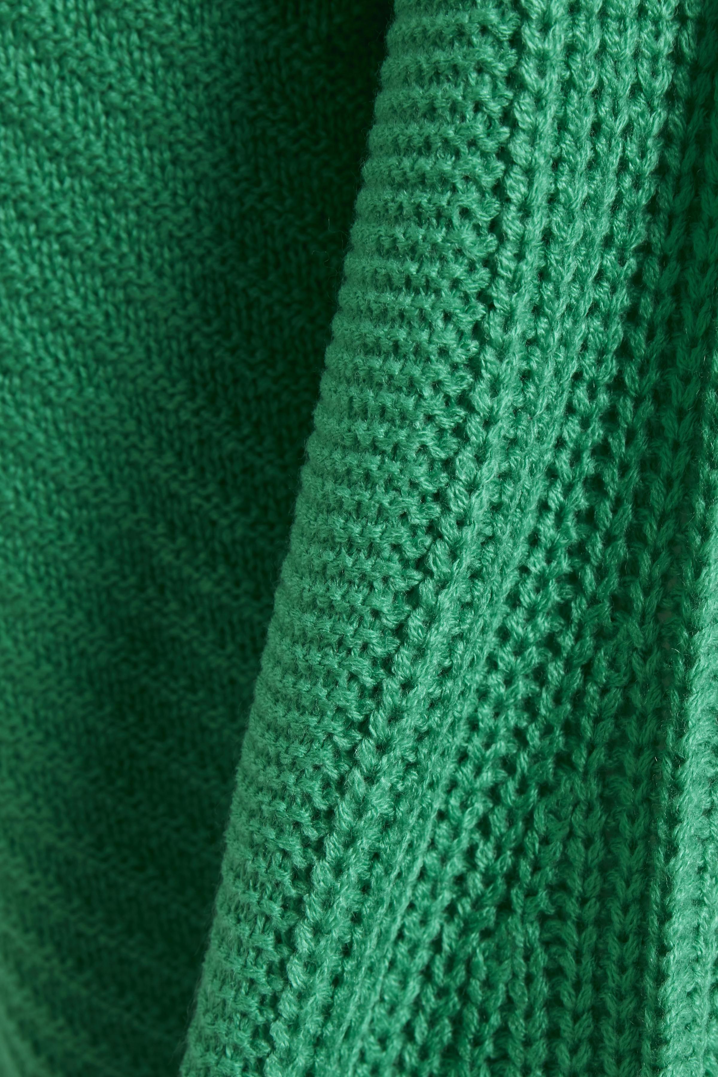 Grön Stickad pullover från b.young – Köp Grön Stickad pullover från stl. XS-XXL här