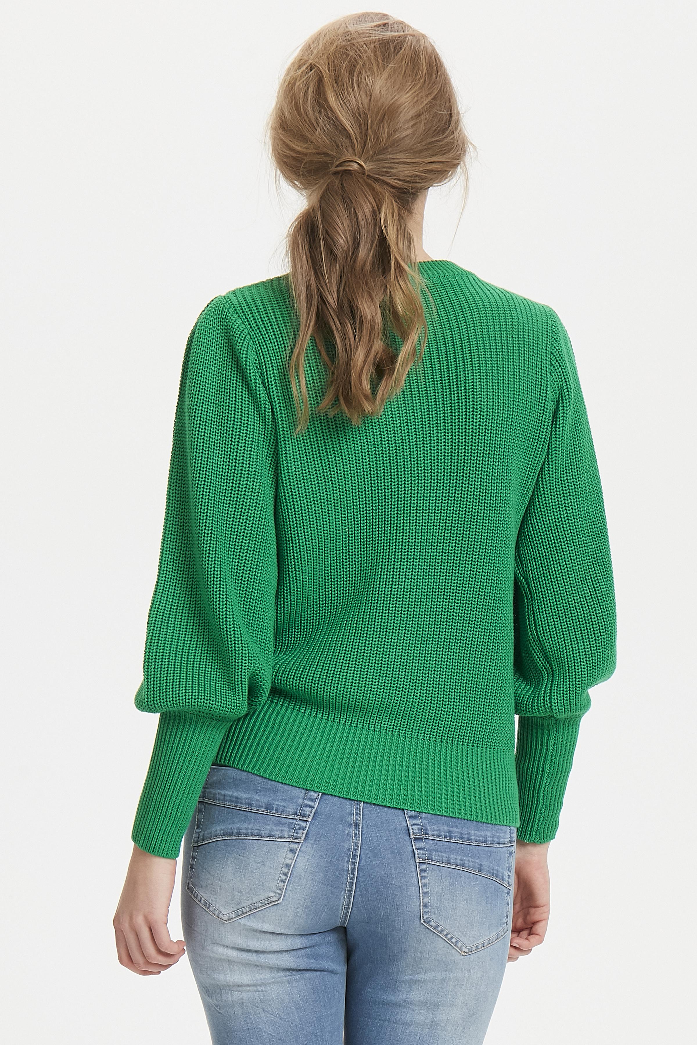 Grön Stickad tröja från Dranella – Köp Grön Stickad tröja från stl. XS-XXL här