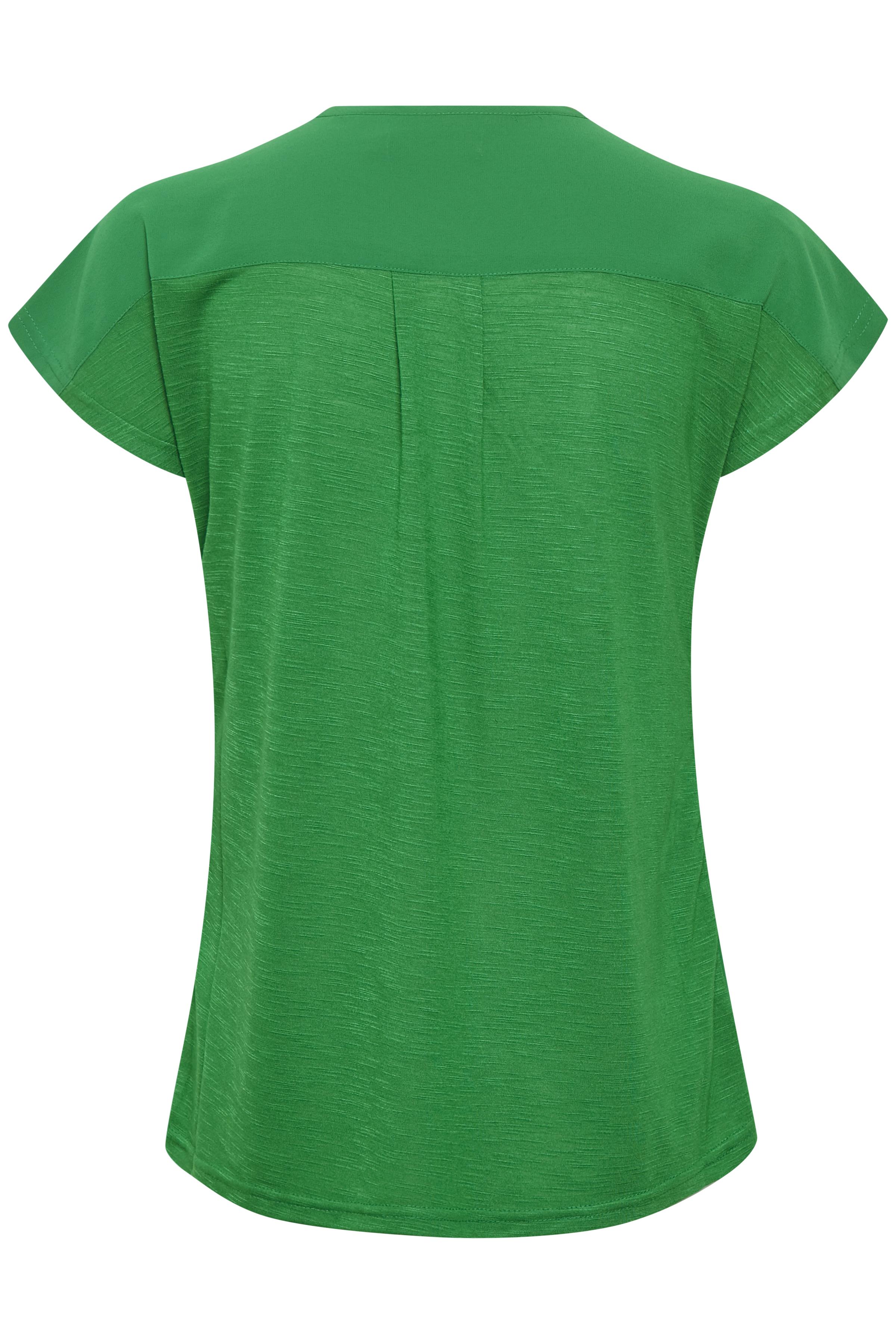 Grün Kurzarm-Bluse von Fransa – Shoppen Sie Grün Kurzarm-Bluse ab Gr. XS-XXL hier