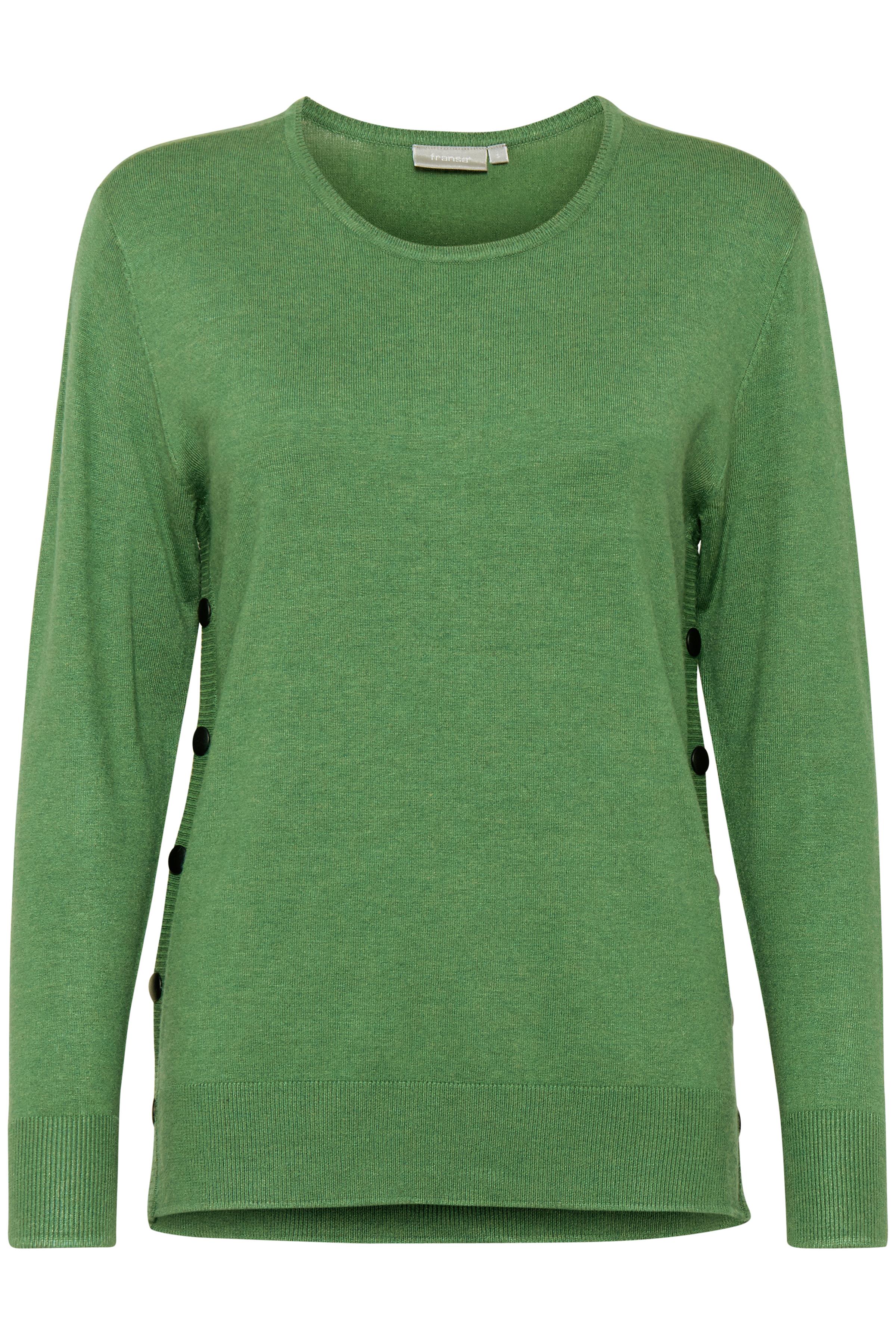 Grün meliert Strickpullover von Fransa – Shoppen Sie Grün meliert Strickpullover ab Gr. XS-XXL hier