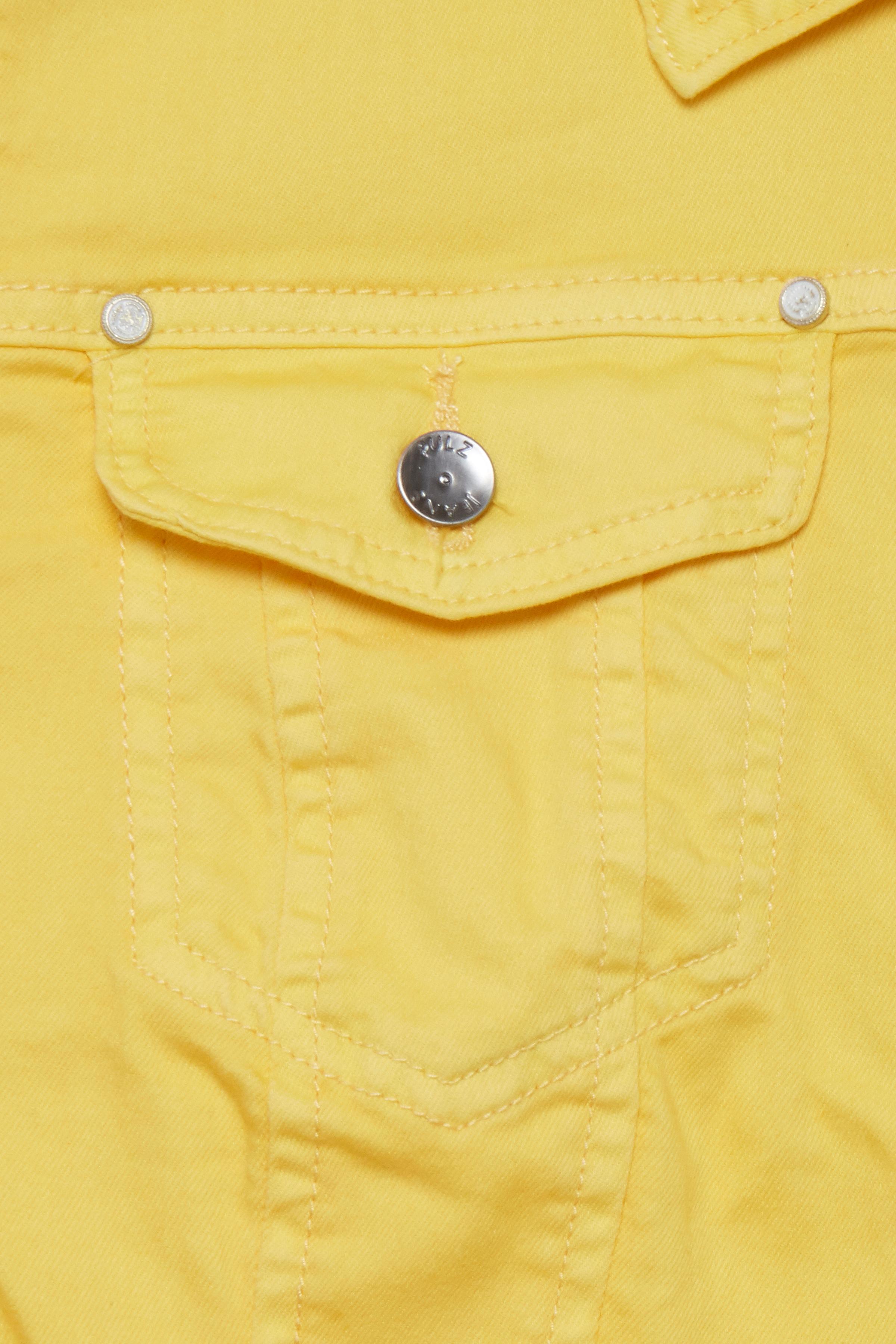 Gul Jakke fra Pulz Jeans – Køb Gul Jakke fra str. XS-XXL her