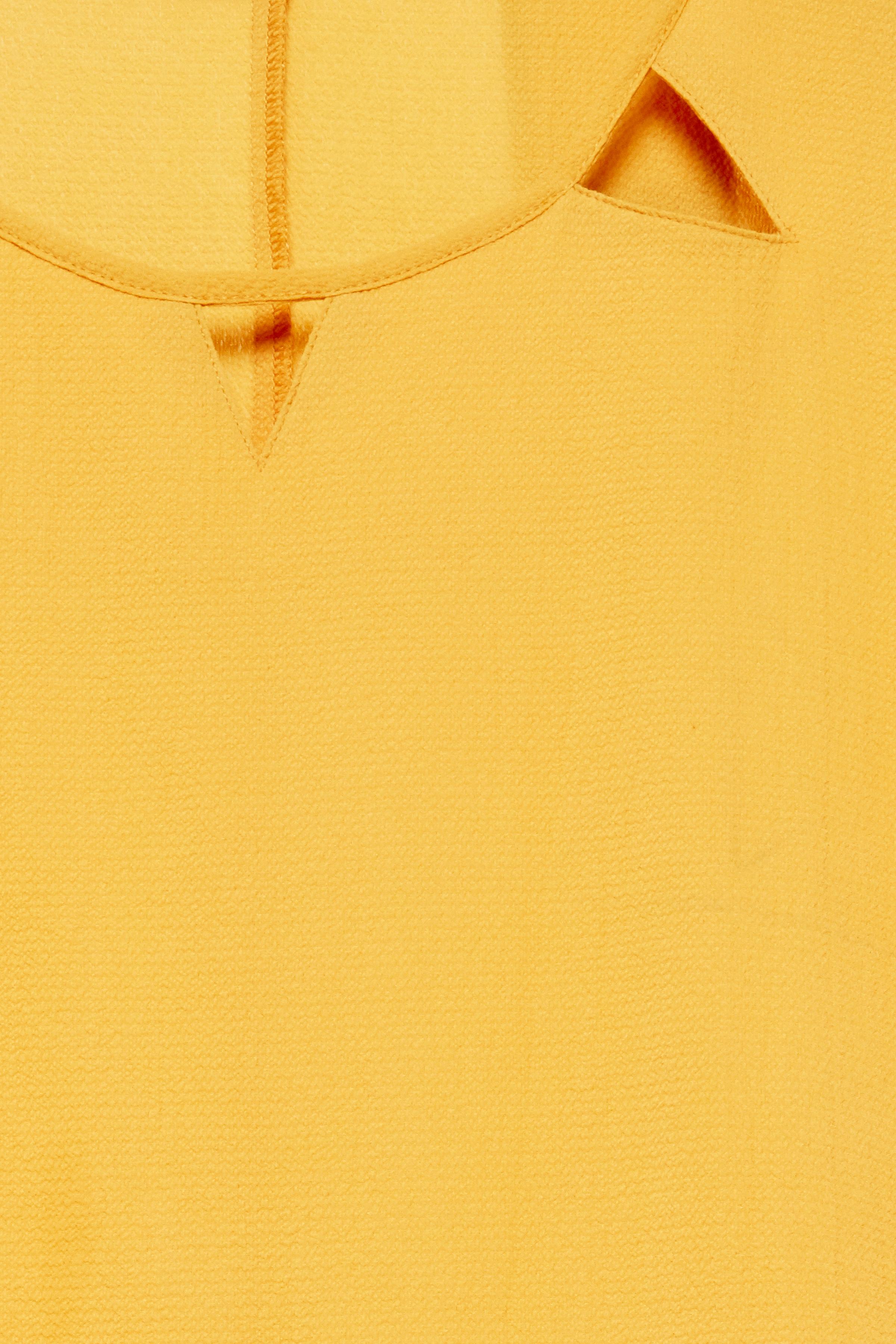 Gul Kortærmet bluse fra b.young – Køb Gul Kortærmet bluse fra str. 34-46 her