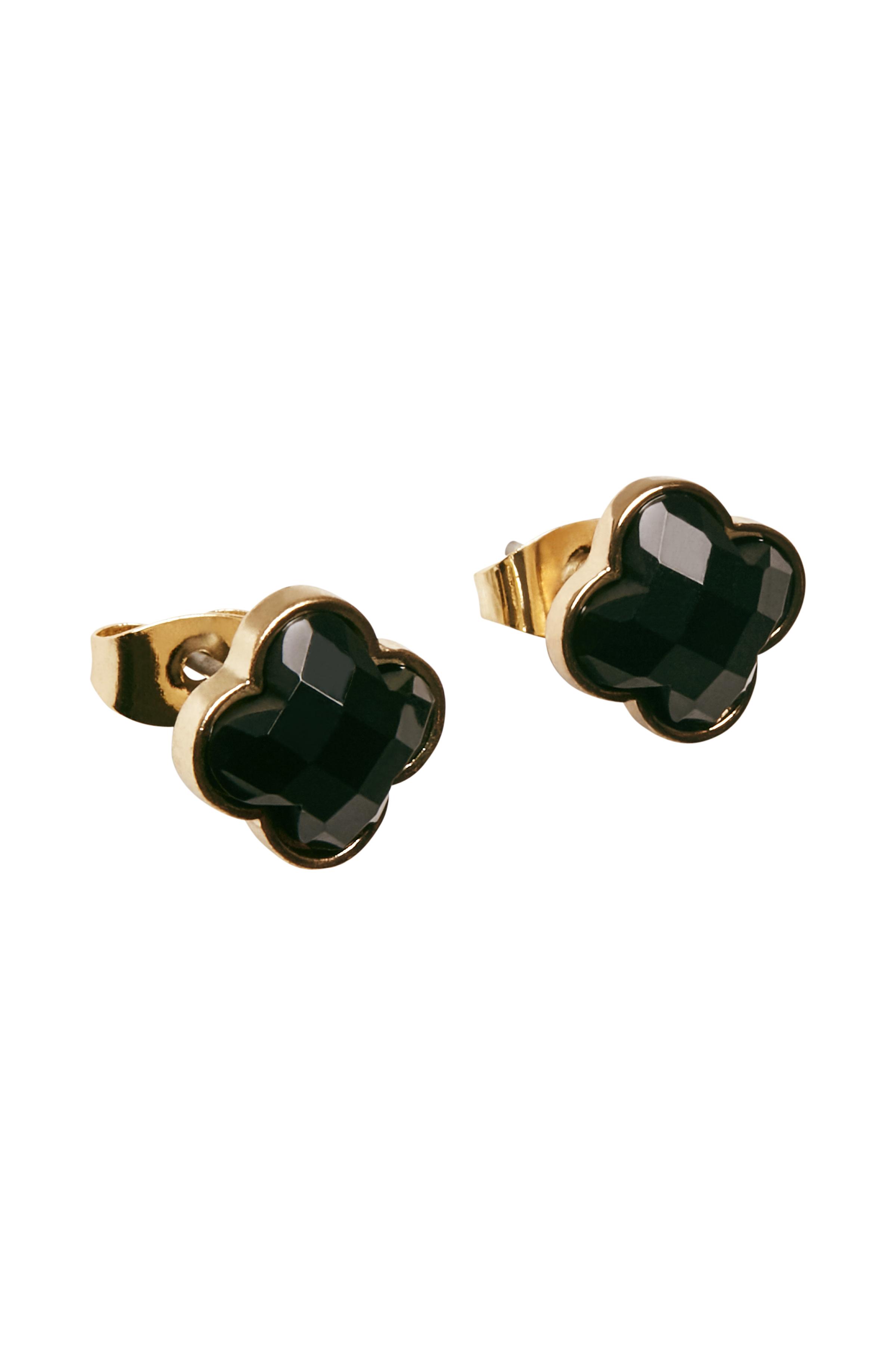 Image of   Fransa Dame Fransa ørestikkere med perle. Mål: 0,5 cm bred. - Guld