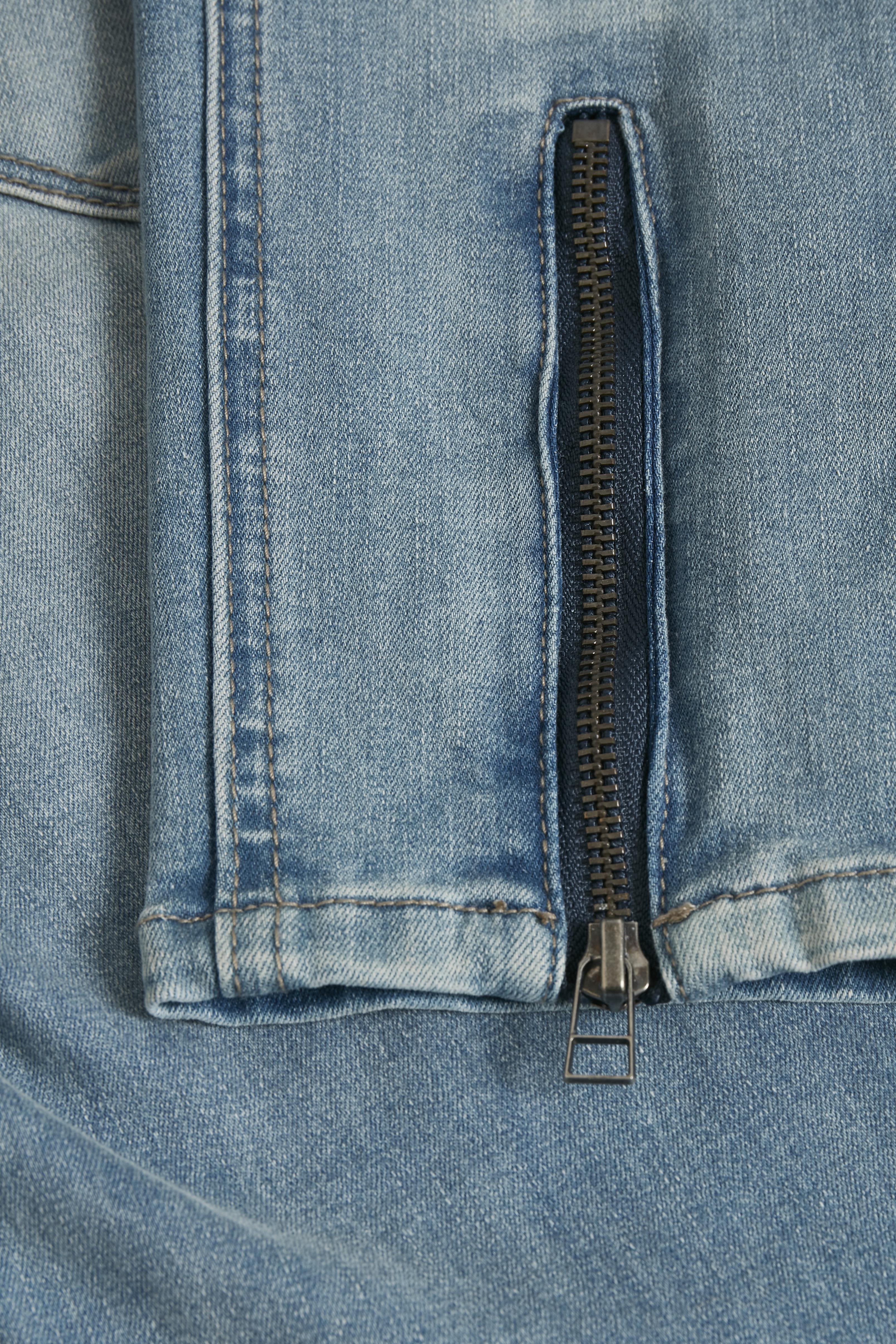 Hell denimblau Denim-Knöchelhose von Fransa – Shoppen Sie Hell denimblau Denim-Knöchelhose ab Gr. 34-46 hier