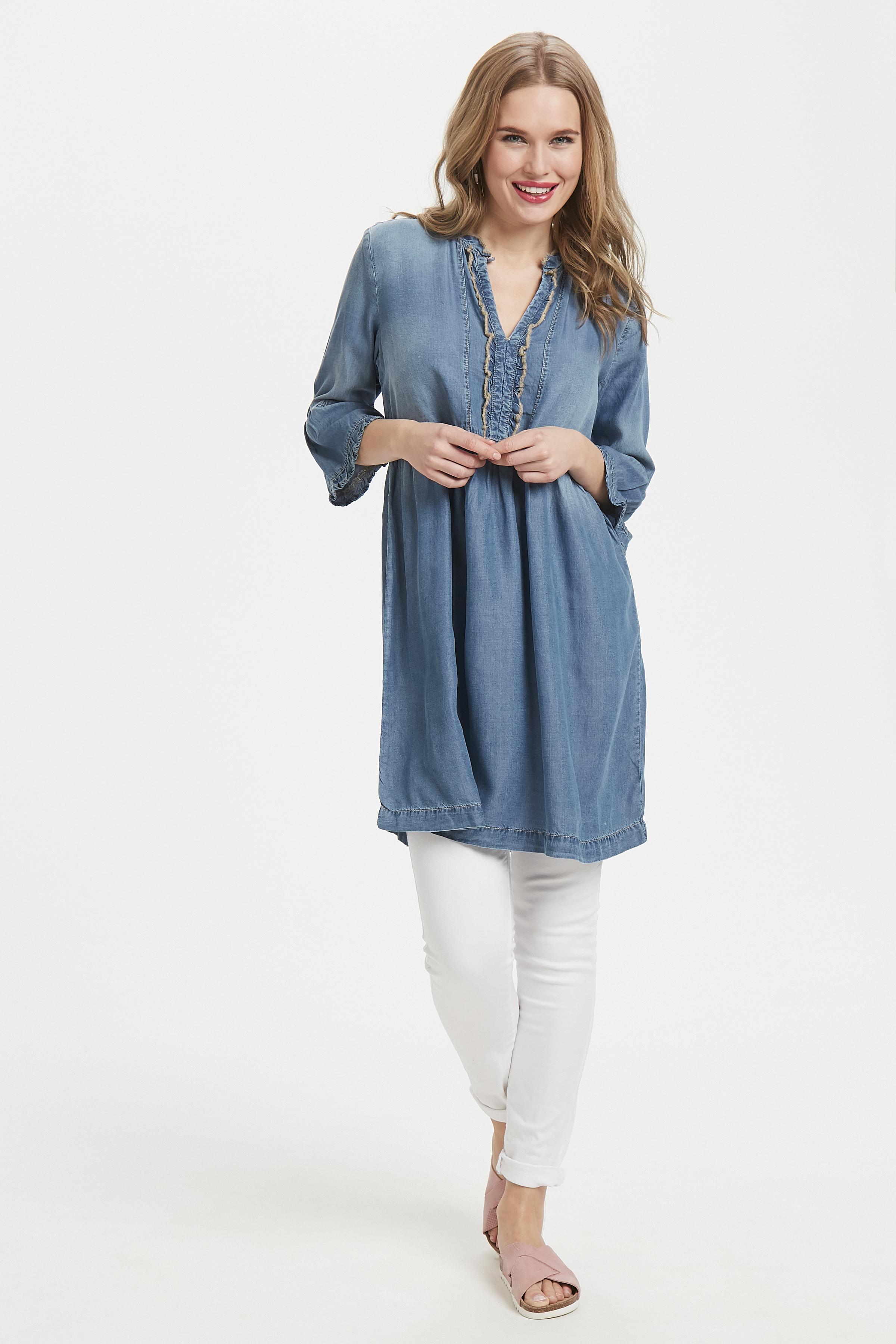 Hell denimblau Denimkleid von Cream – Shoppen Sie Hell denimblau Denimkleid ab Gr. 34-46 hier