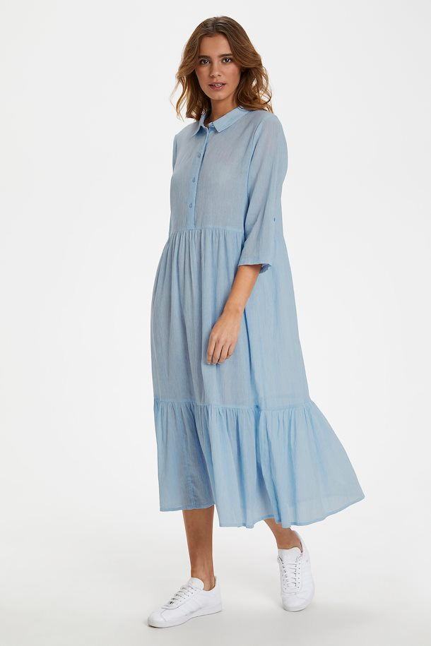 hellblau kleid von kaffe - shoppen sie hellblau kleid ab