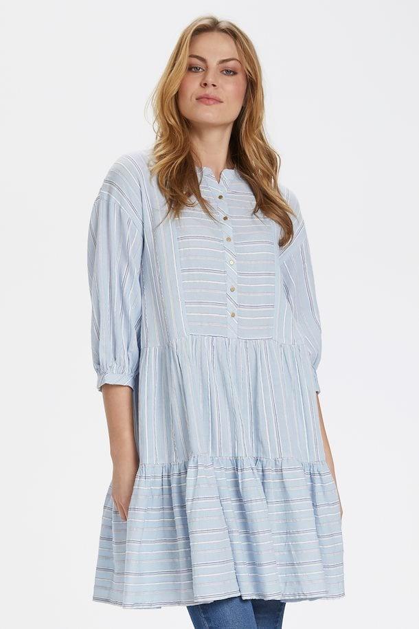 Hellblau Kleid von Culture - Shoppen Sie Hellblau Kleid ab ...