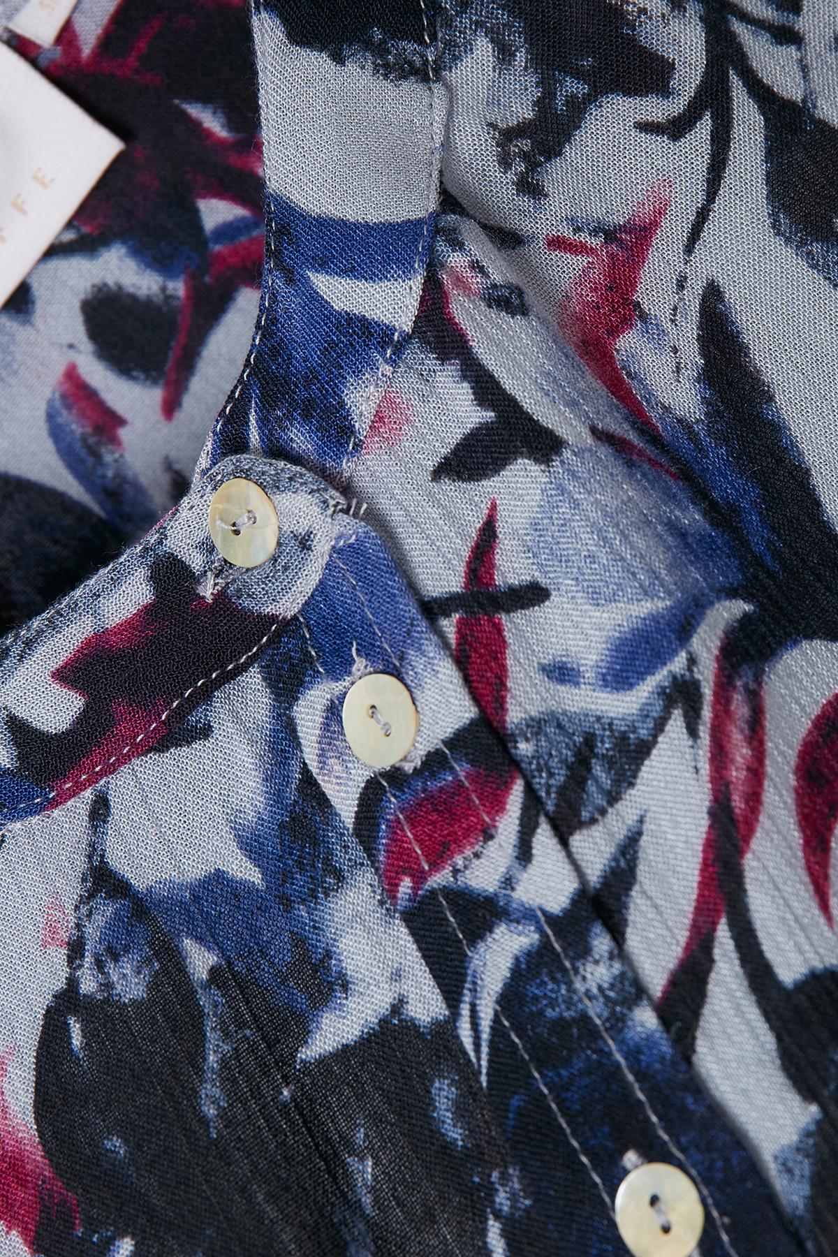 Hellblau/marineblau Langarm - Hemd von Kaffe – Shoppen SieHellblau/marineblau Langarm - Hemd ab Gr. 34-46 hier