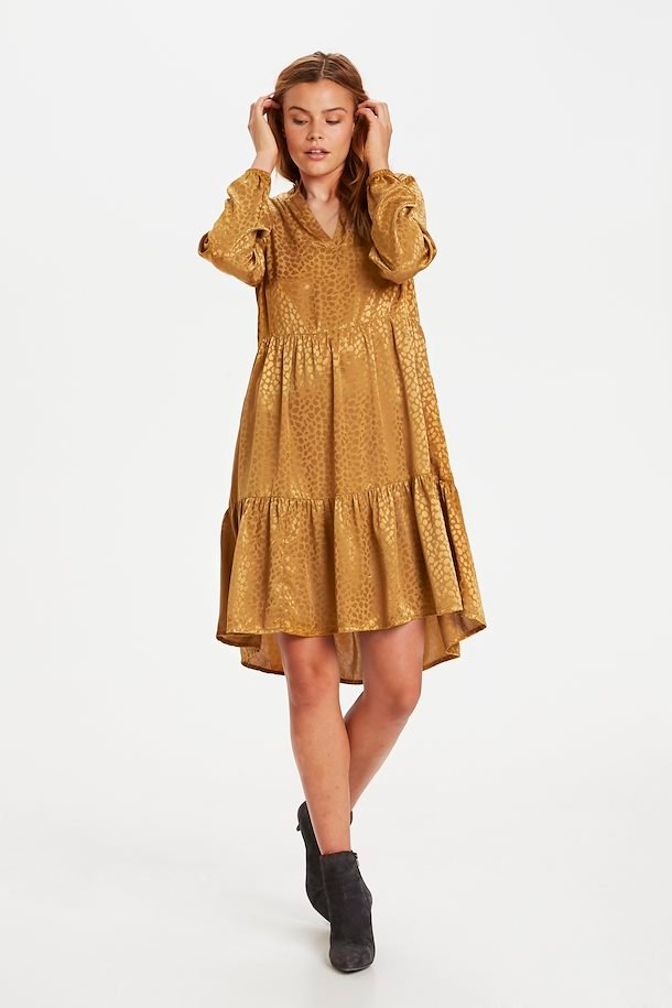 Hellbraun Kleid von Saint Tropez - Shoppen Sie Hellbraun ...