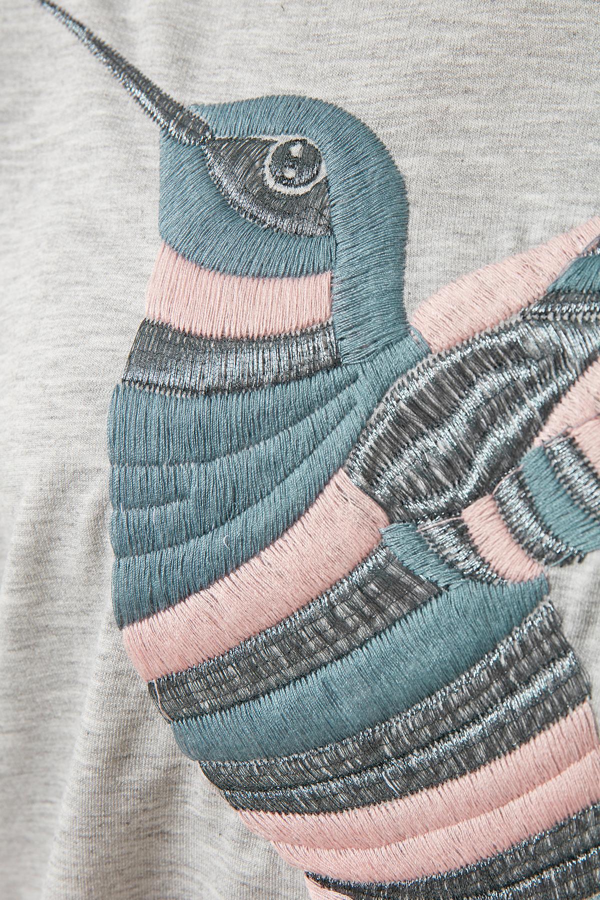 Hellgrau meliert Sweatshirt von Kaffe – Shoppen Sie Hellgrau meliert Sweatshirt ab Gr. XS-XXL hier