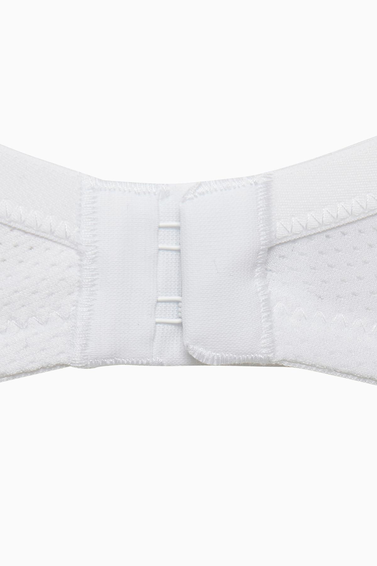 Hvid BH uden fyld fra Bon'A Parte – Køb Hvid BH uden fyld fra str. 70B-95F her