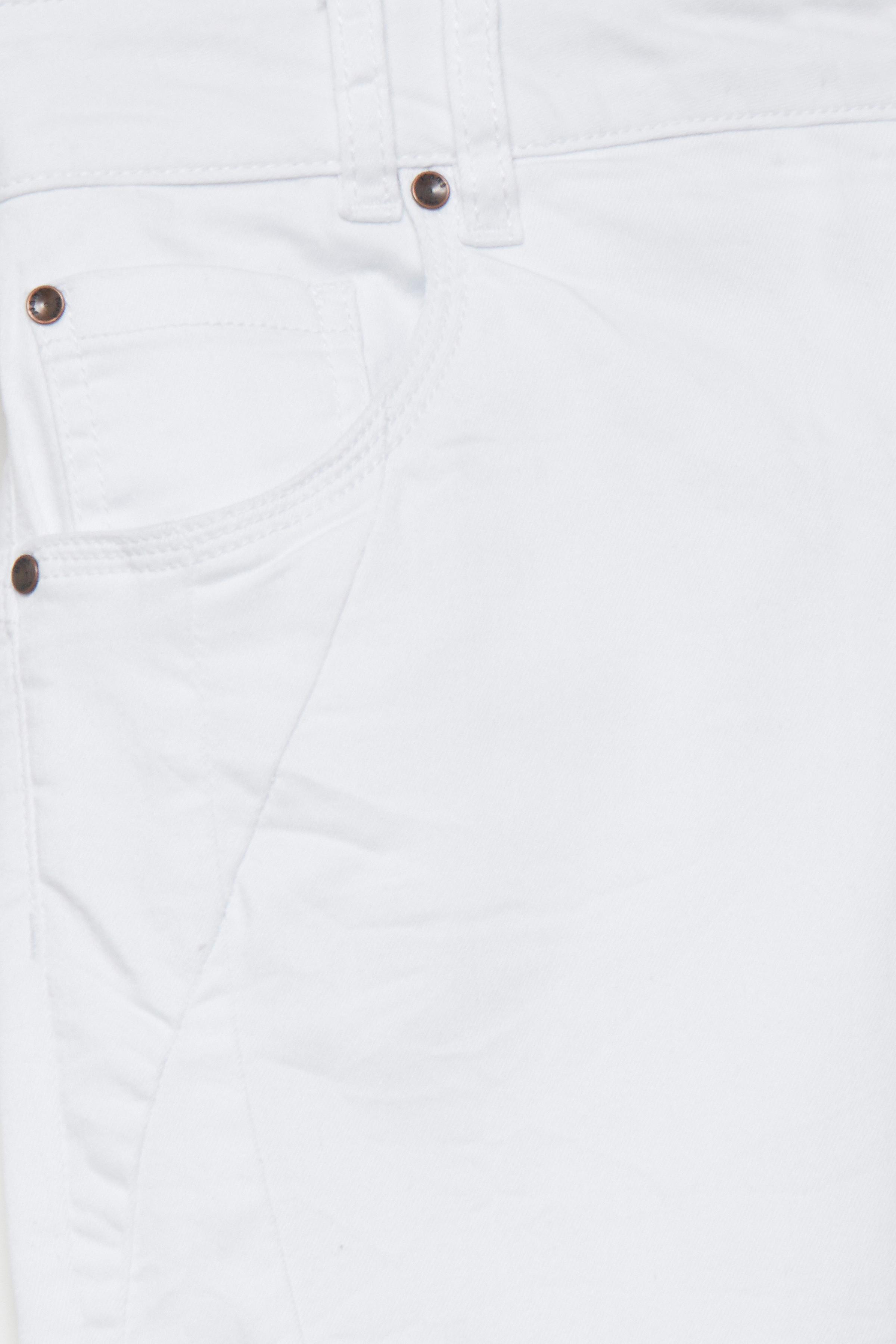 Hvid Casual bukser fra Pulz Jeans – Køb Hvid Casual bukser fra str. 32-46 her