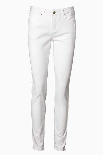 Hvid Casual bukser fra Bon'A Parte – Køb Hvid Casual bukser fra str. 34-54 her