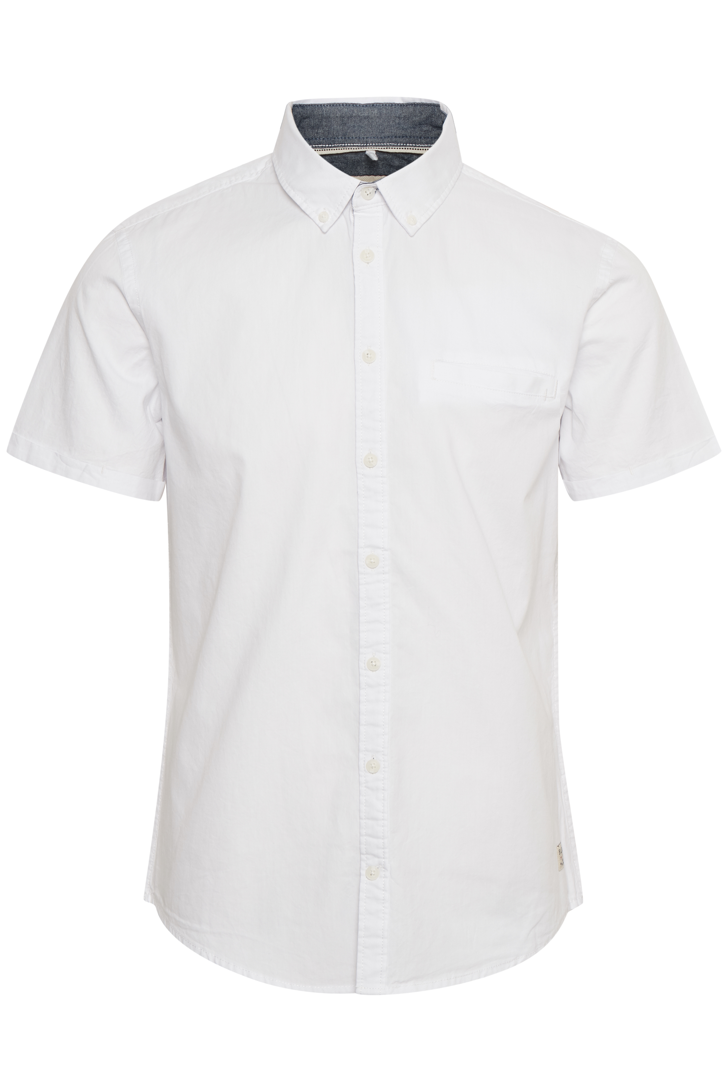 Image of   Blend He Herre Kortærmet skjorte - Hvid
