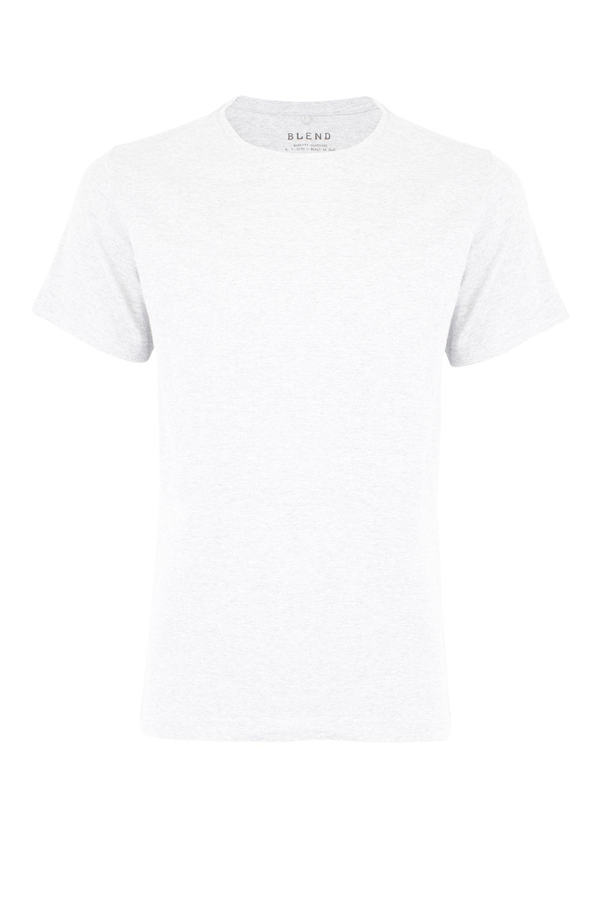 Blend He Herre Kortærmet T-shirt - Hvid