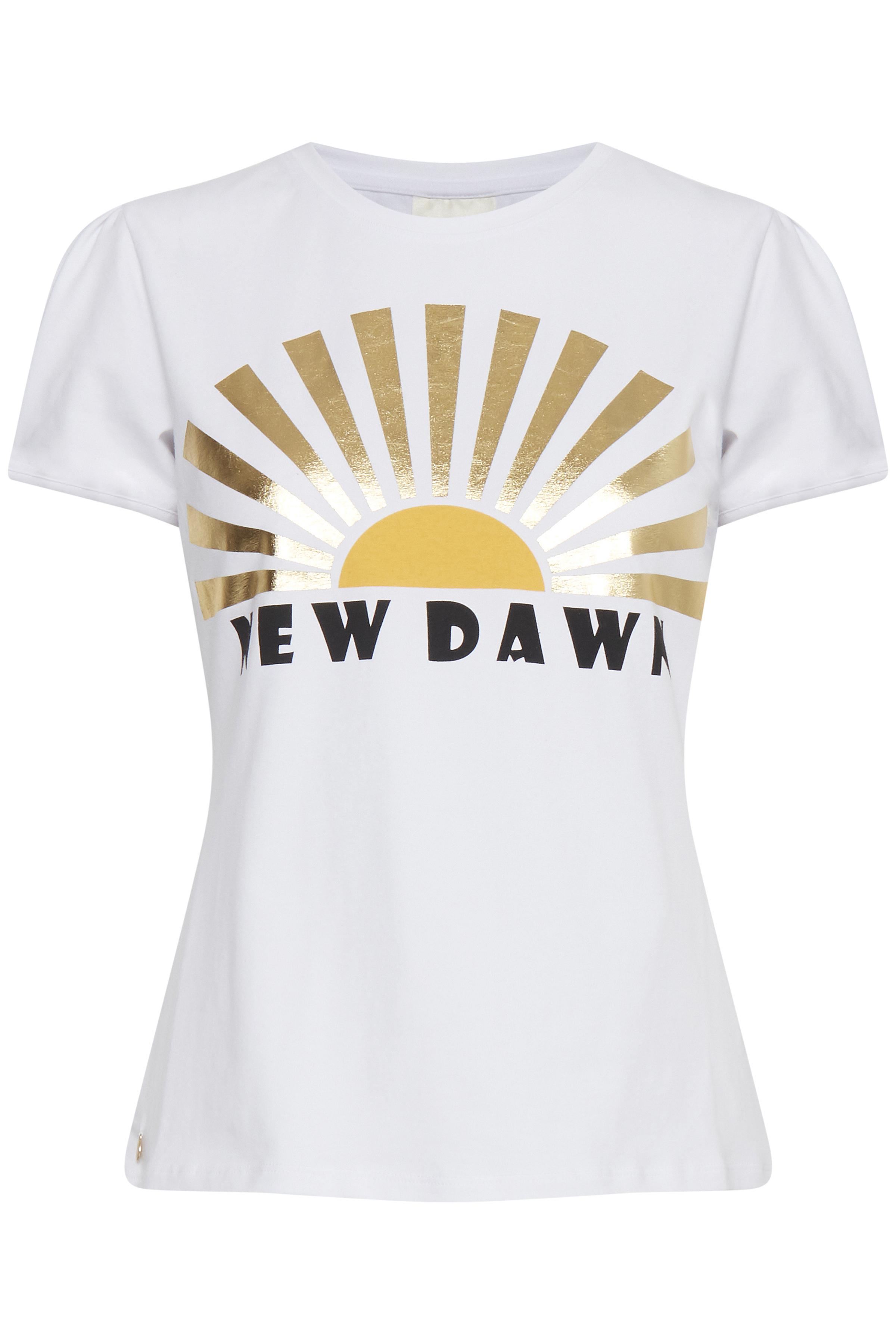 Image of Dranella Dame T-shirt - Hvid