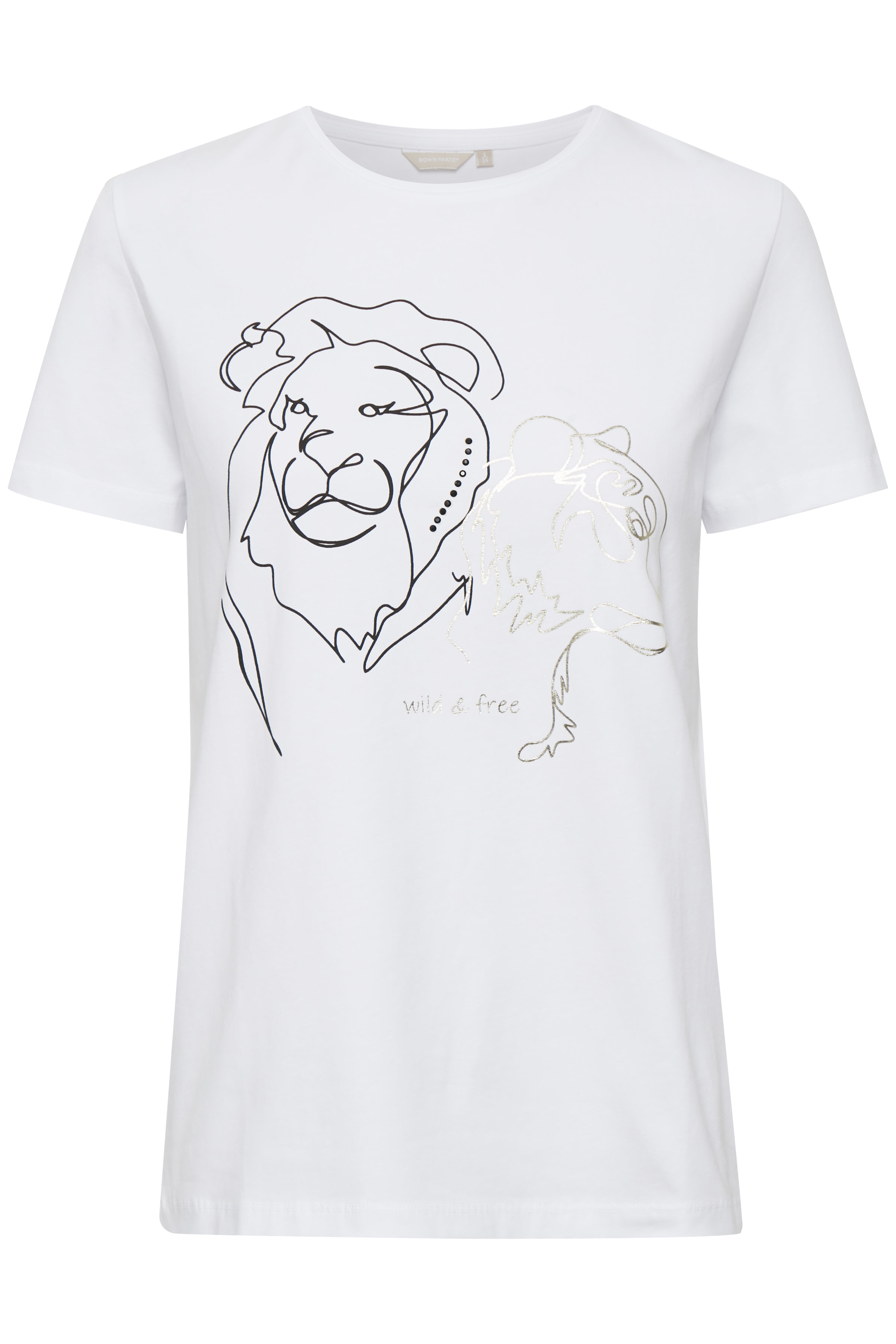 Image of BonA Parte Dame T-shirt - Hvid