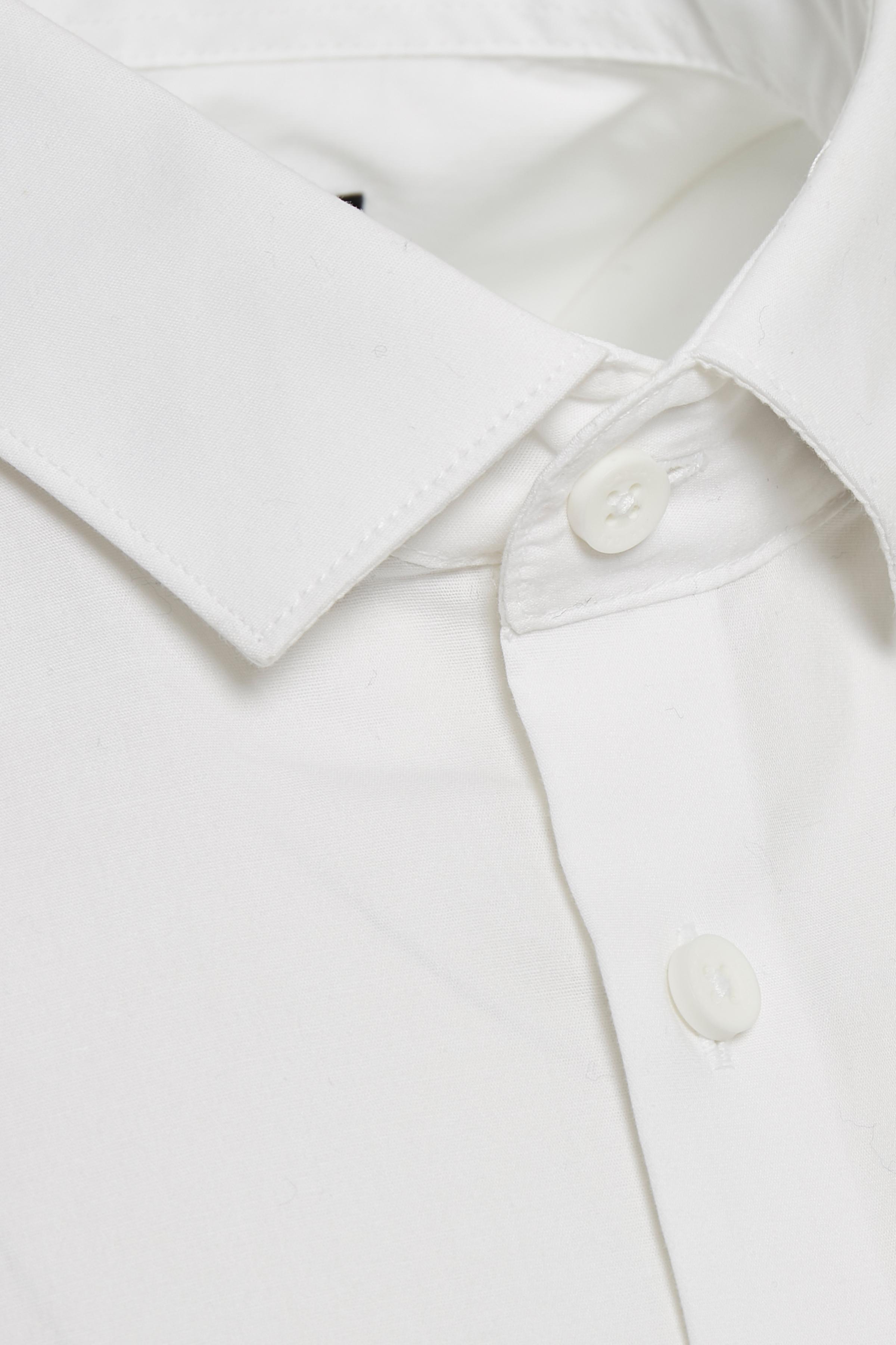 Hvid Langærmet skjorte fra Casual Friday – Køb Hvid Langærmet skjorte fra str. XXS-3XL her