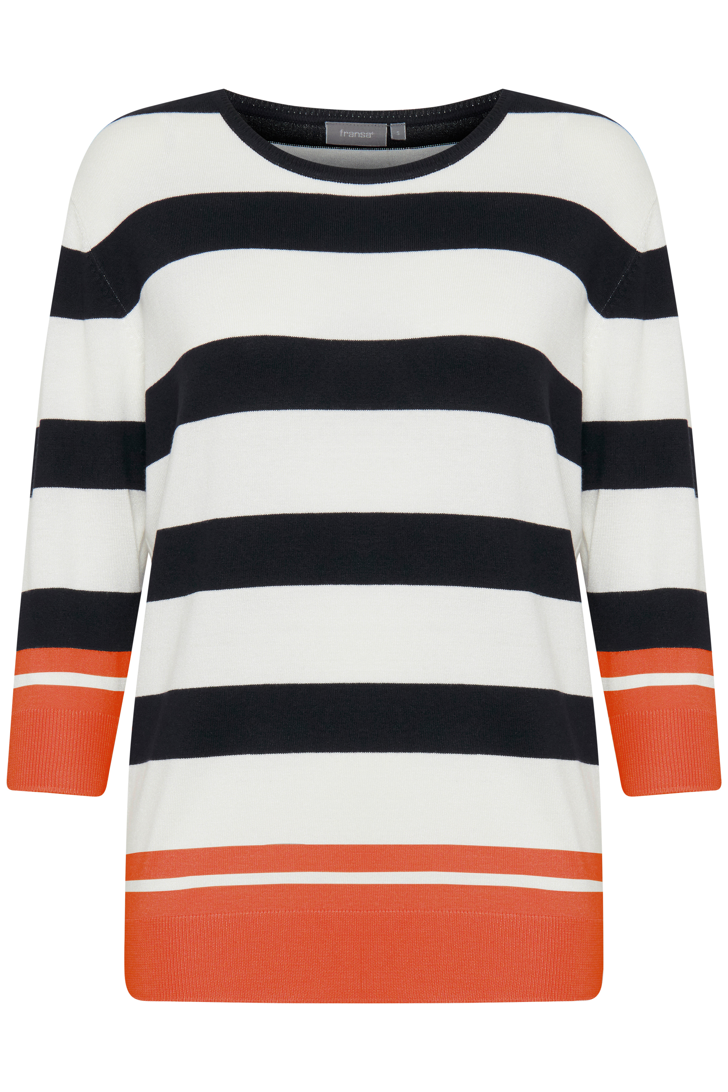 Hvid/orange