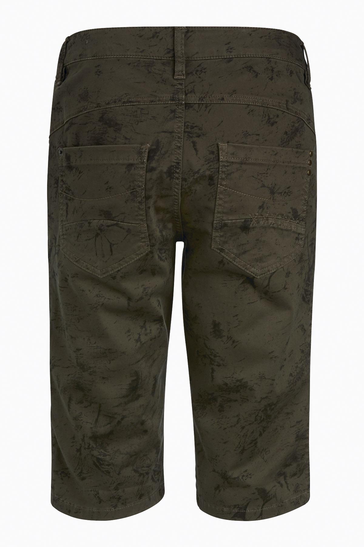 Kaki/grå Shorts från Bon'A Parte – Köp Kaki/grå Shorts från stl. 34-54 här