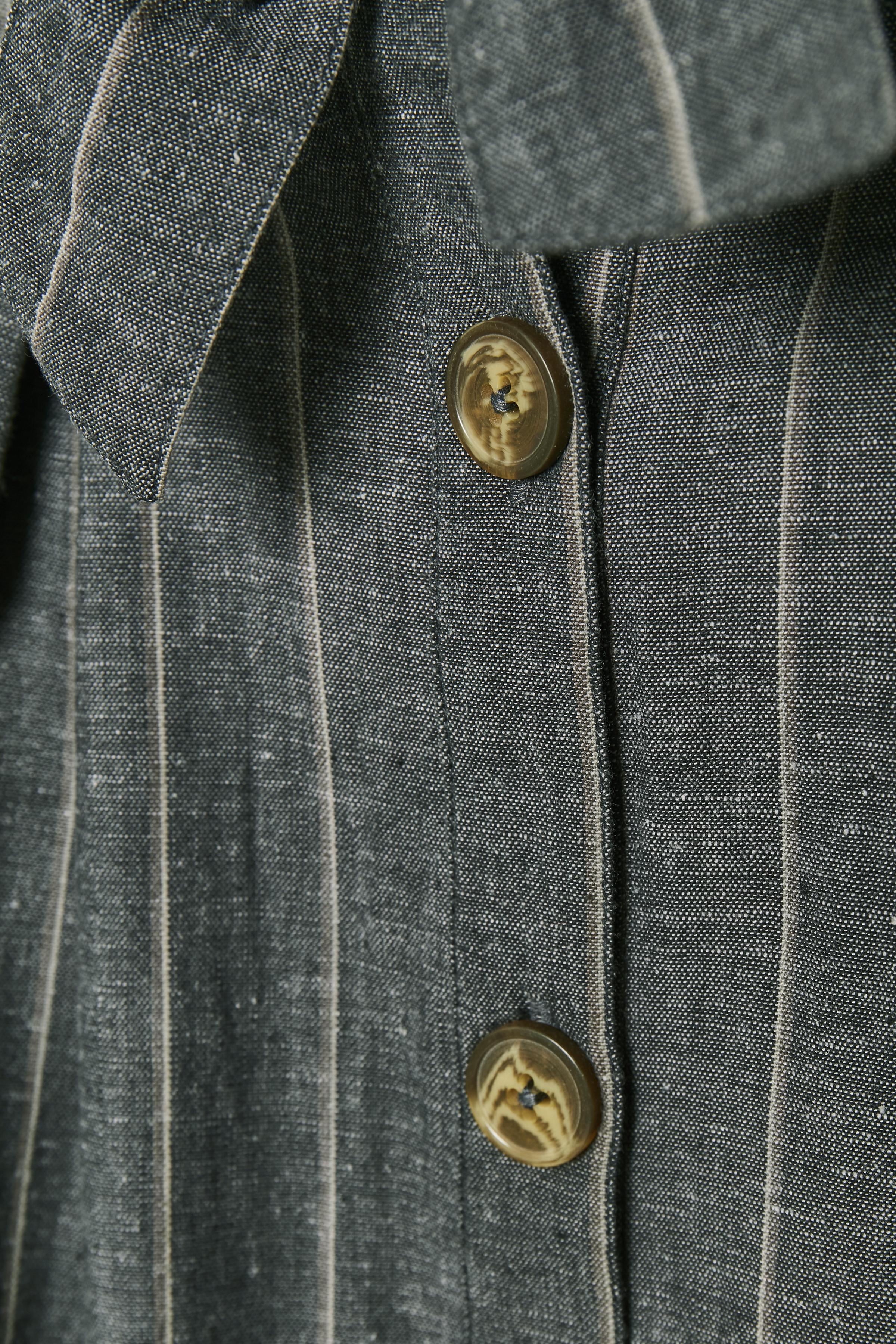 Koksgrå/grå Kjol från Bon'A Parte – Köp Koksgrå/grå Kjol från stl. S-2XL här