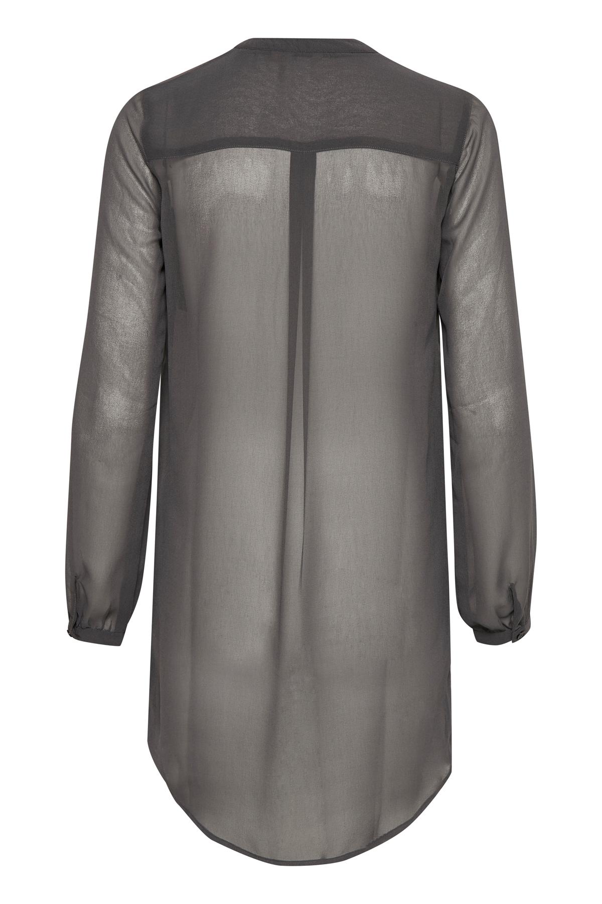 Koksgrå Kjole fra Bon'A Parte – Køb Koksgrå Kjole fra str. S-2XL her