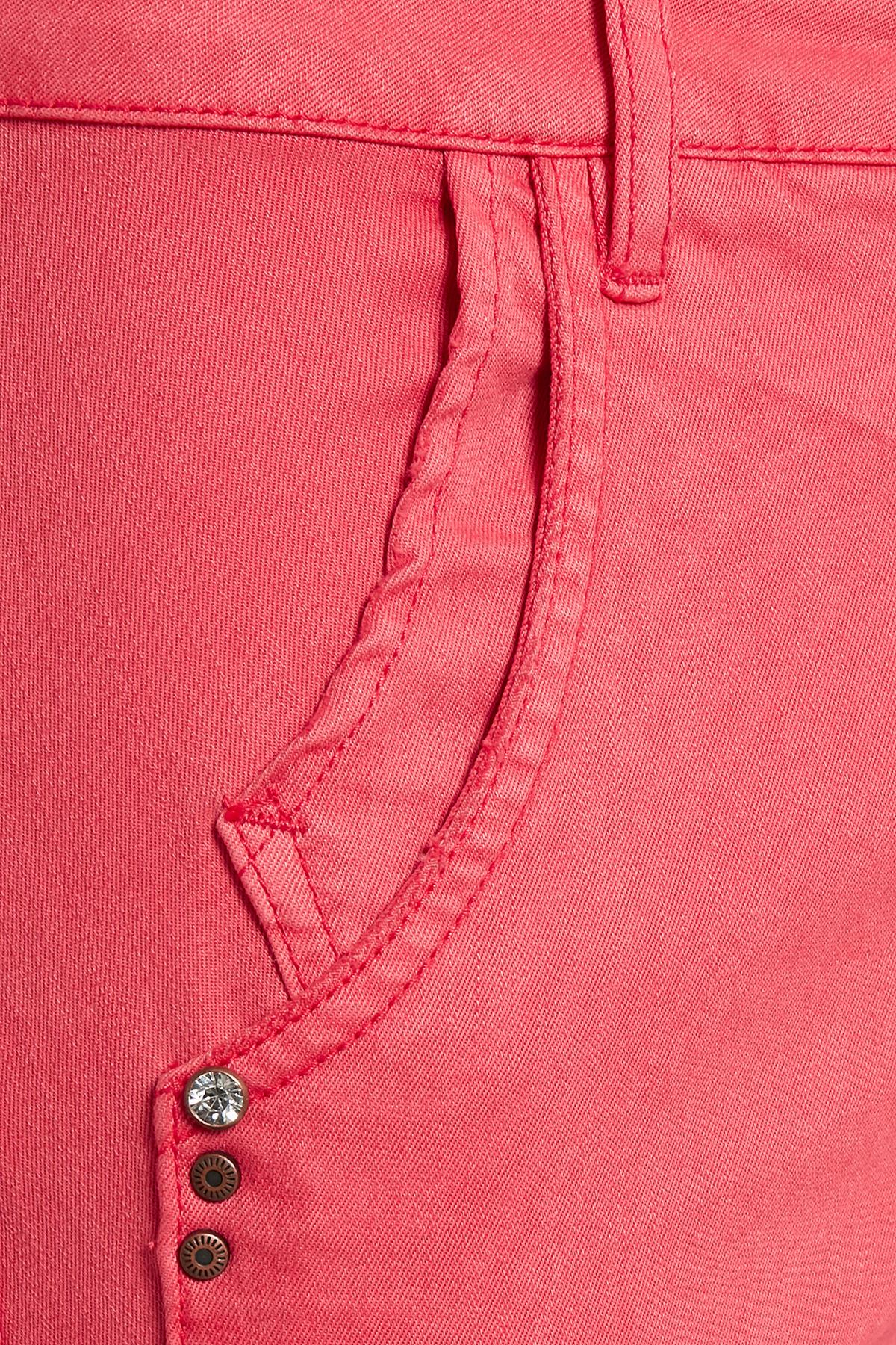 Koraalrood Casual broek van Dranella – Door Koraalrood Casual broek van maat. 32-46 hier