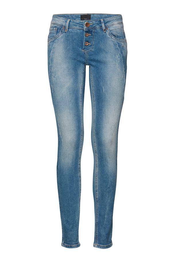 7ef964b7125e Licht denimblauw Jeans van Pulz Jeans – Door Licht denimblauw Jeans van  maat. 25-36 hier