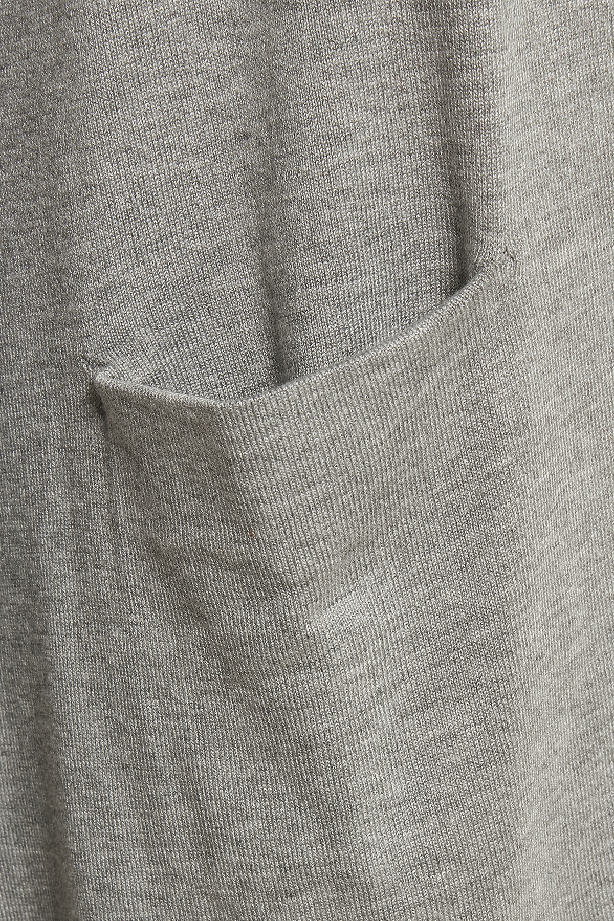 Ljus gråmelerad Stickad cardigan från Pulz Jeans – Köp Ljus gråmelerad Stickad cardigan från stl. XS-XXL här