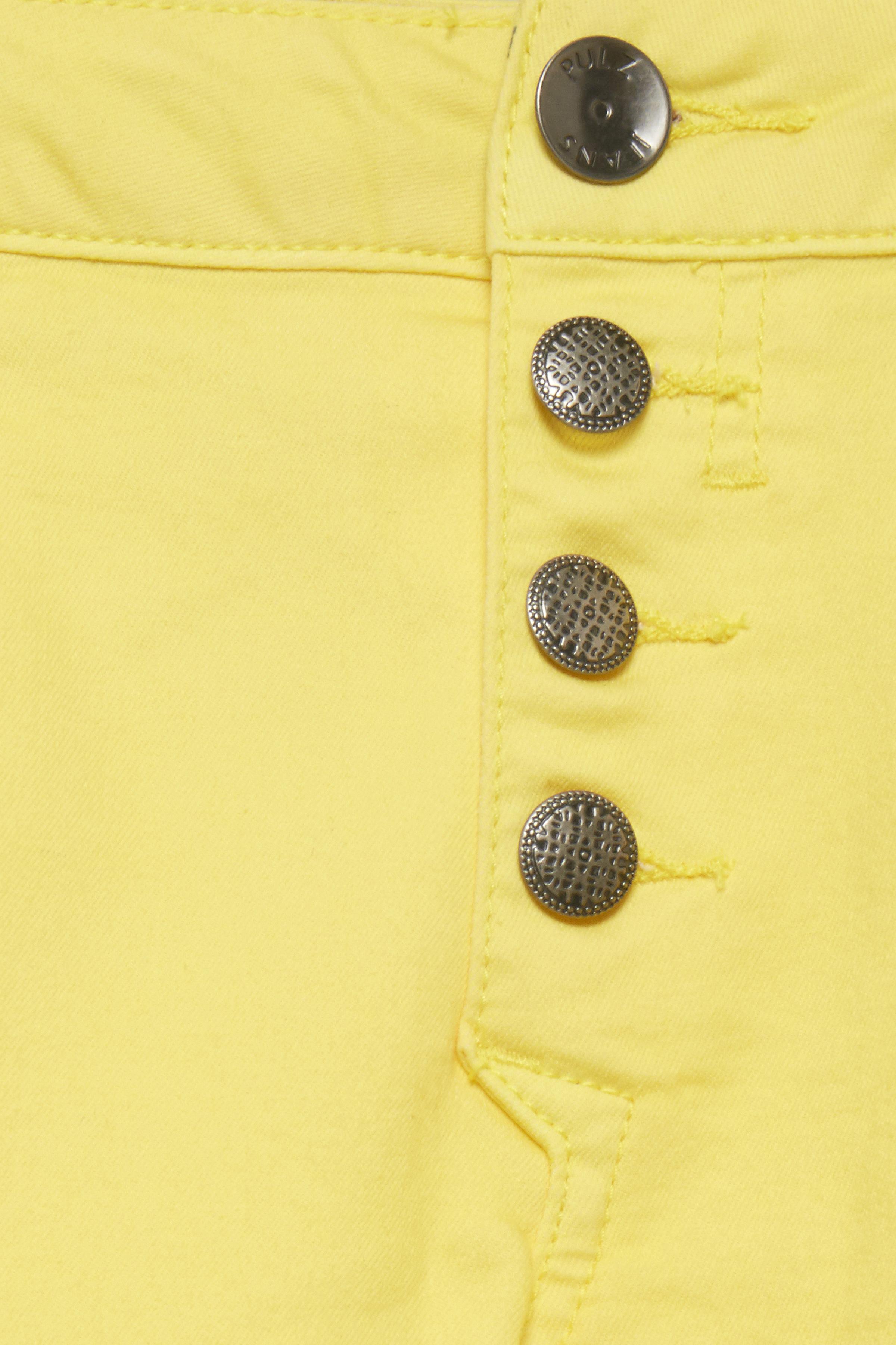 Ljus gul Byxor från Pulz Jeans – Köp Ljus gul Byxor från stl. 32-46 här