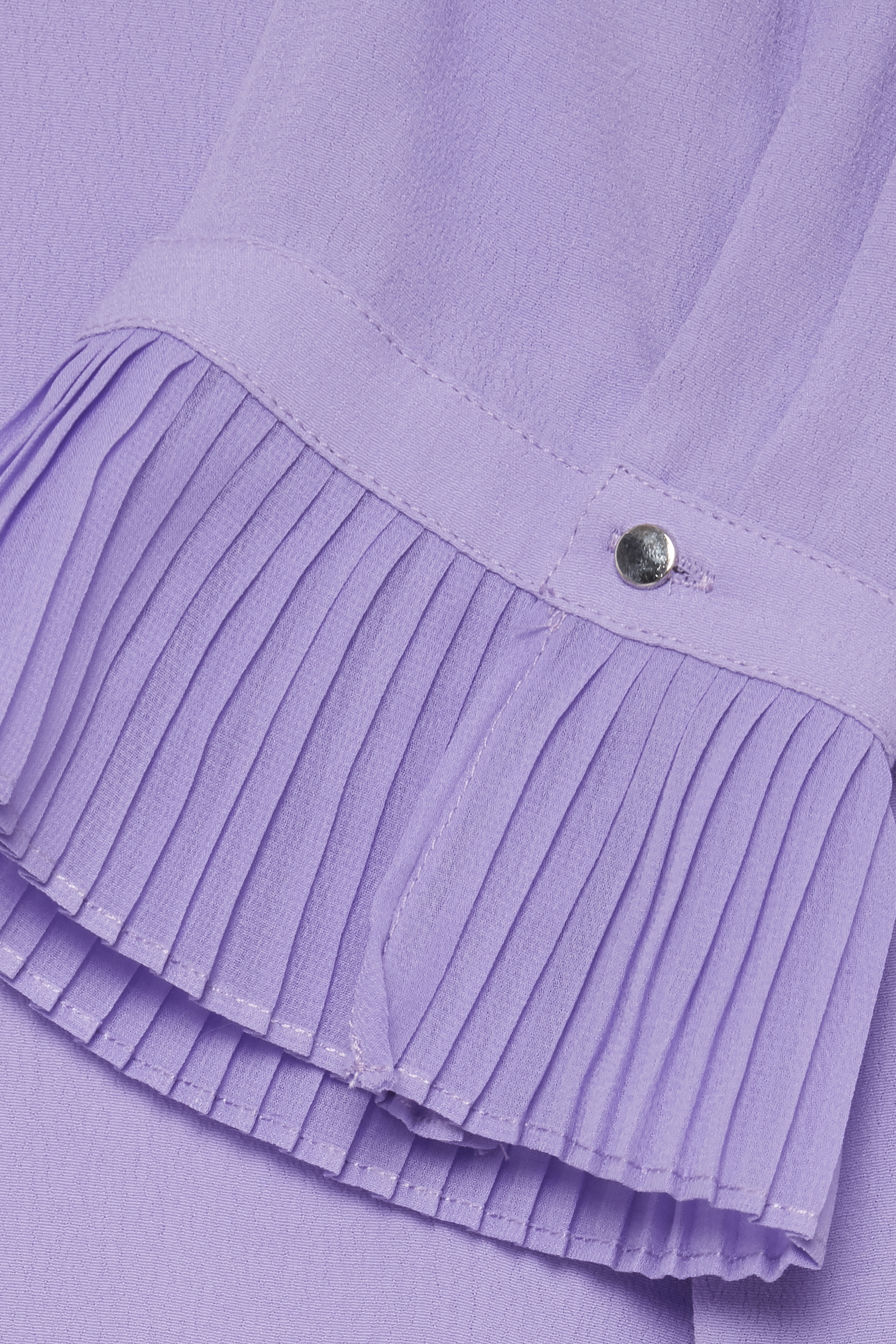 Ljus lila Kortärmad blus från Fransa – Köp Ljus lila Kortärmad blus från stl. XS-XXL här