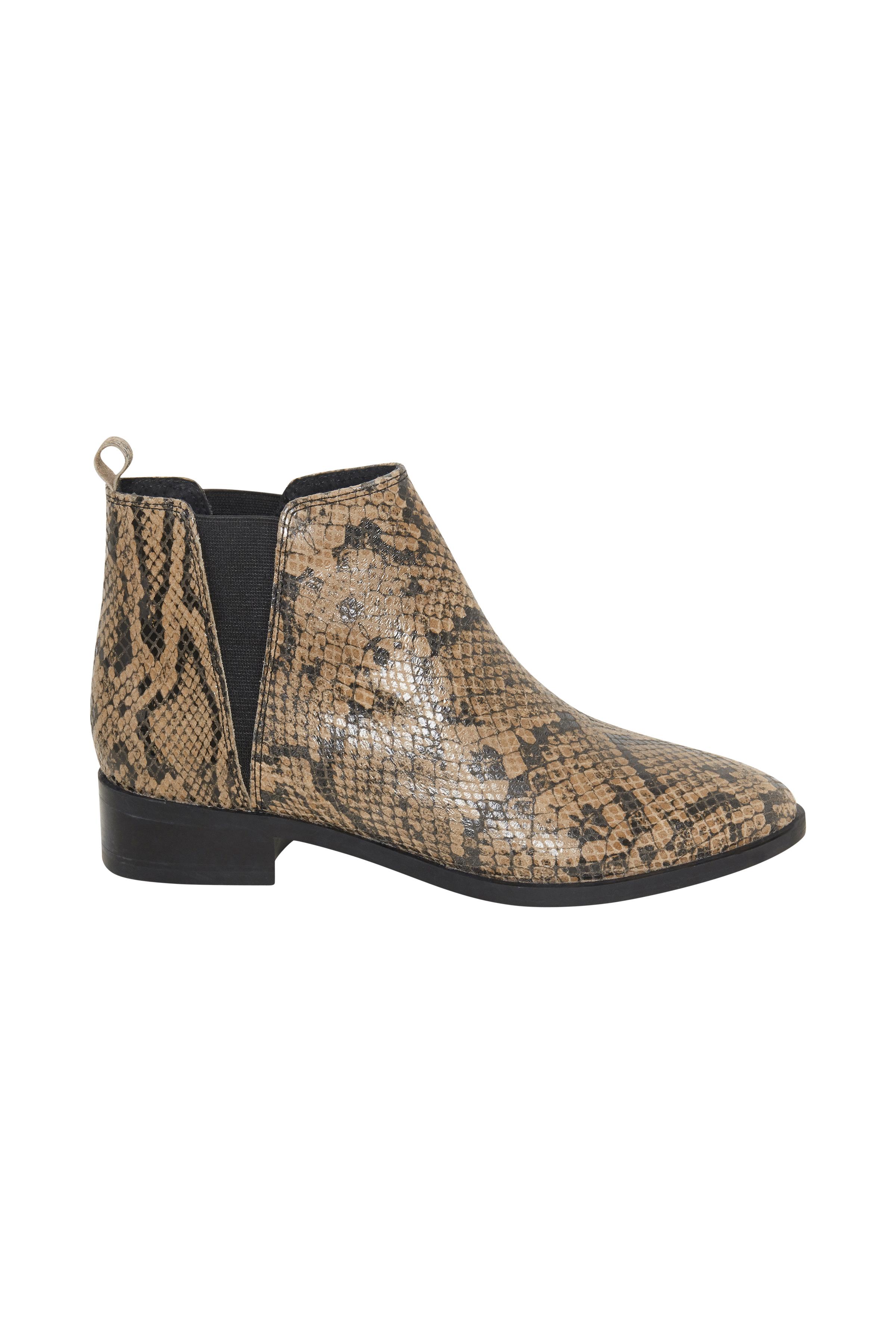 Ljusbrun/brun Skor från Ichi - accessories – Köp Ljusbrun/brun Skor från stl. 36-41 här