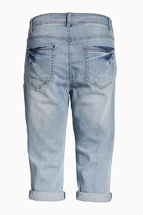 Lys denimblå Casual bukser fra Bon'A Parte – Køb Lys denimblå Casual bukser fra str. 34-54 her