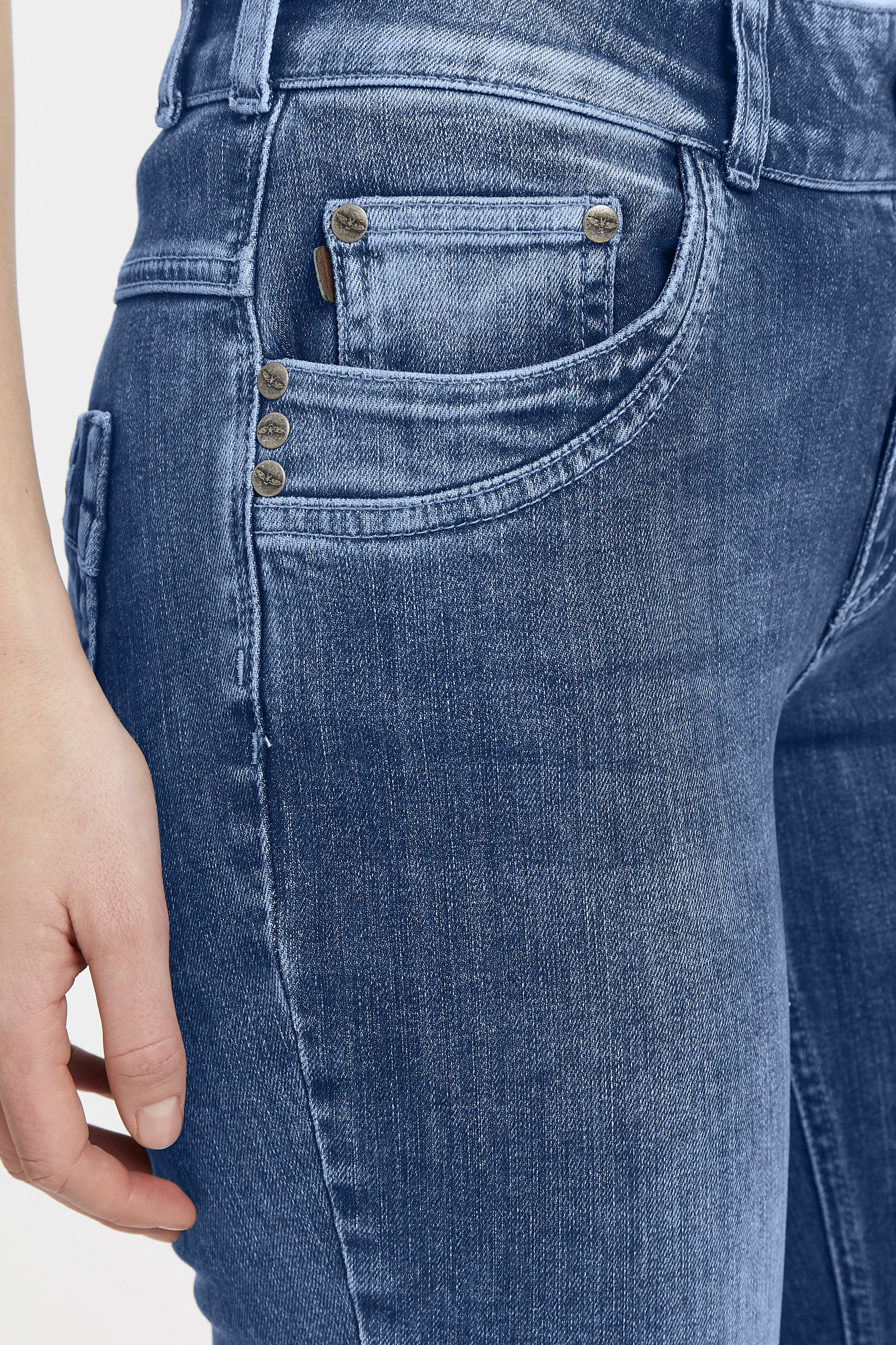 Lys denimblå Denimbuks fra Denim Hunter – Køb Lys denimblå Denimbuks fra str. 25-35 her
