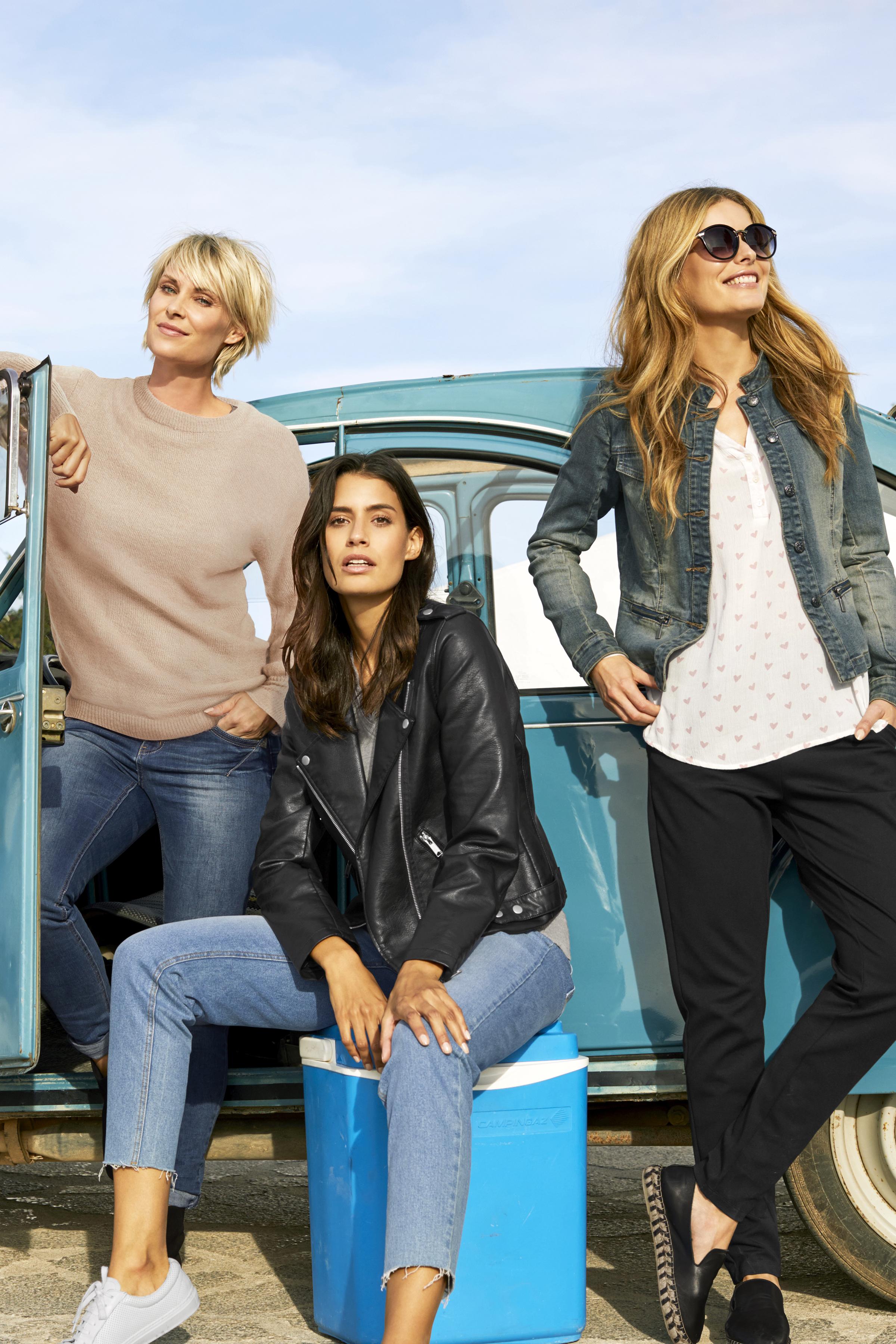 Lys denimblå Jeans fra b.young – Køb Lys denimblå Jeans fra str. 25-36 her