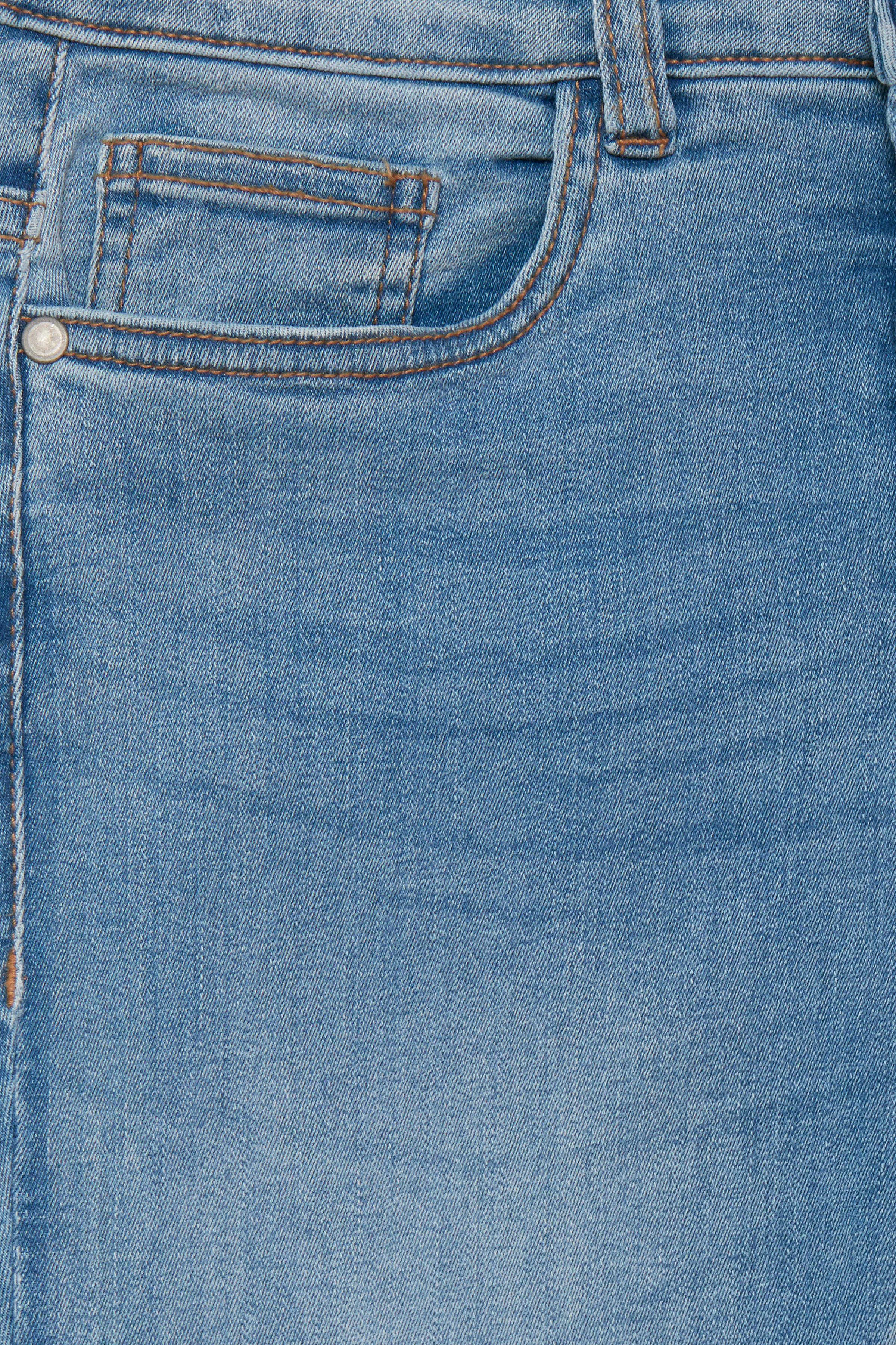 Lys denimblå Jeans fra Fransa – Køb Lys denimblå Jeans fra str. 34-46 her